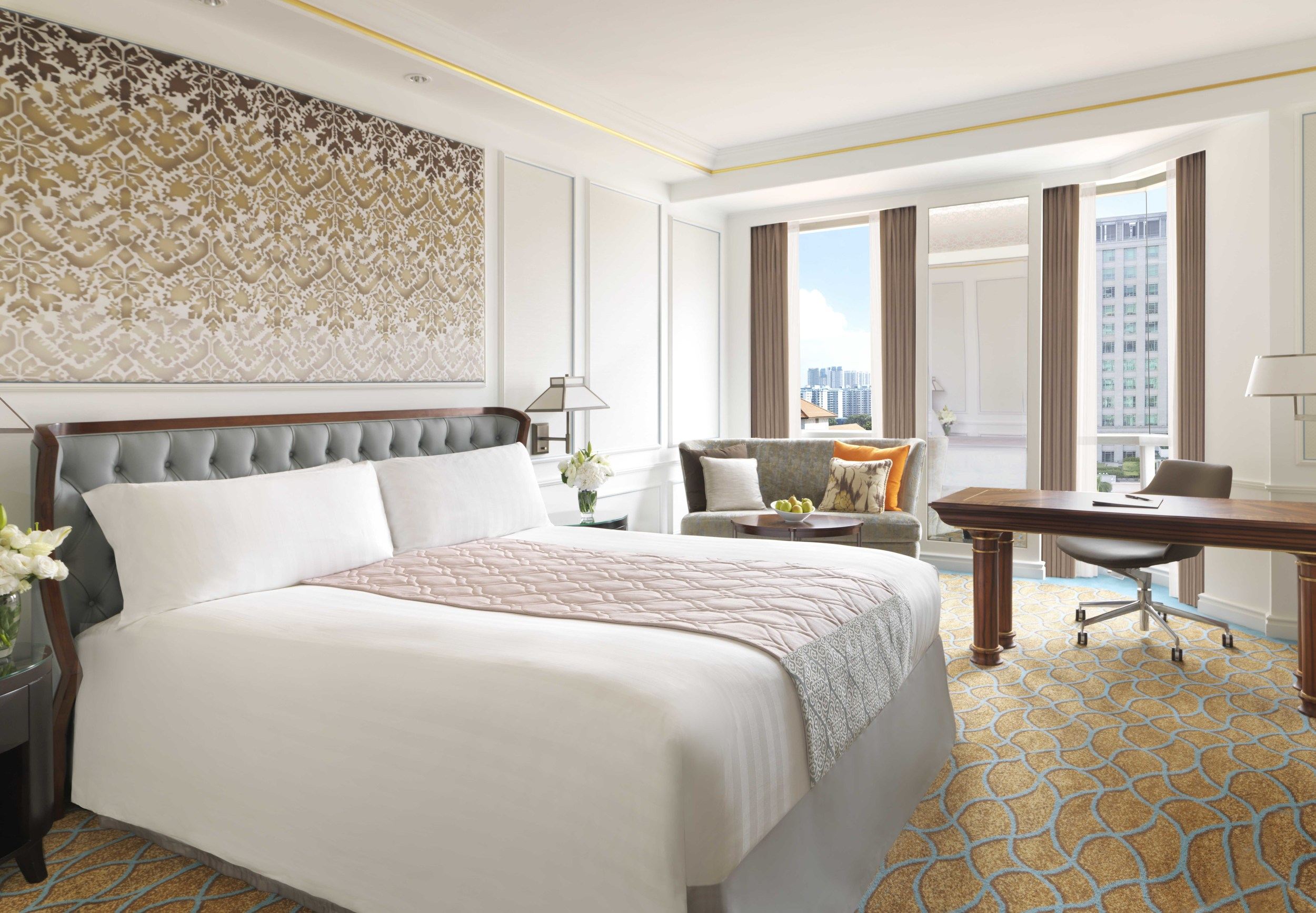Deluxe Room | Photo Credit: InterContinental Singapore
