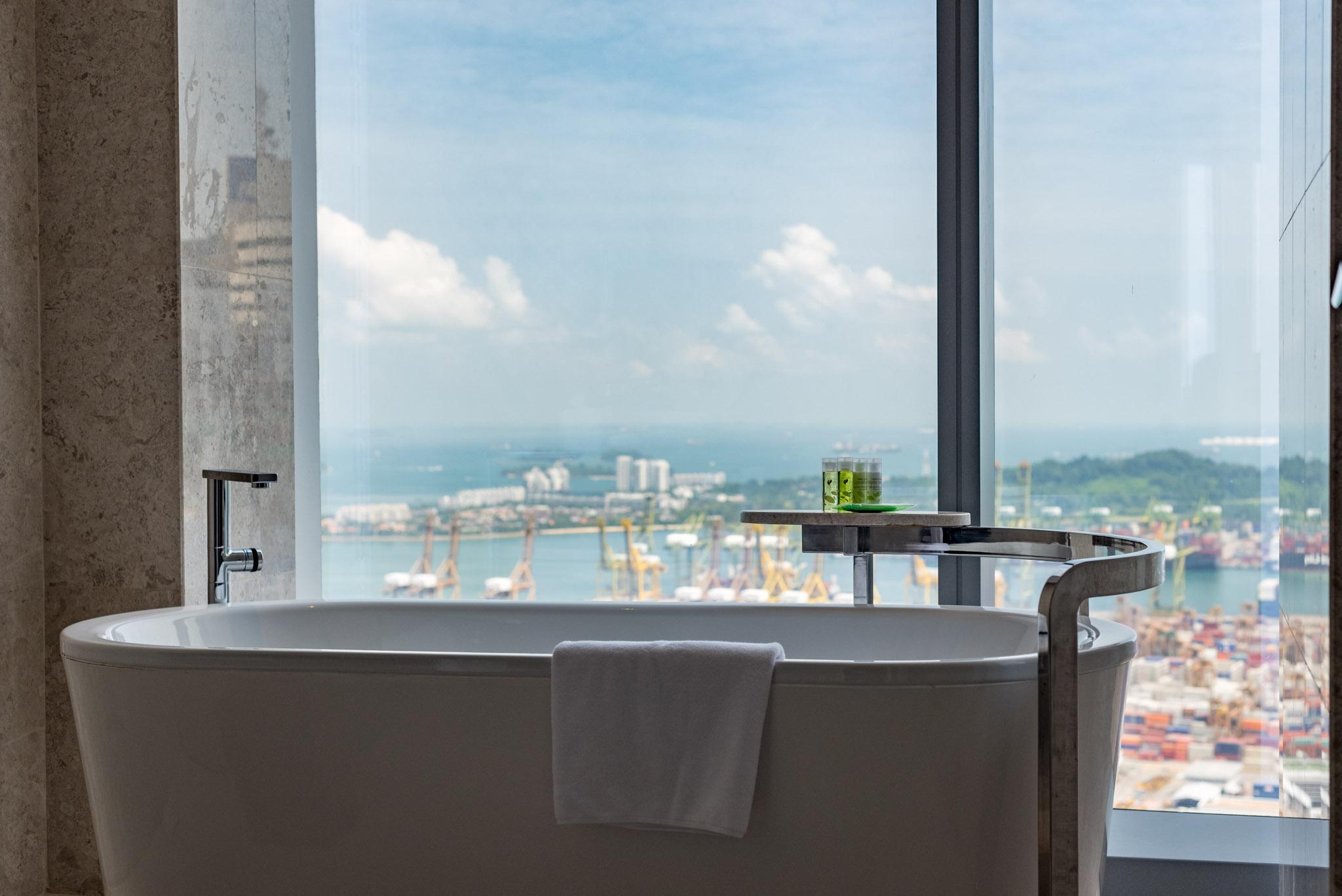 Bathroom - Premier Room  The Westin Singapore