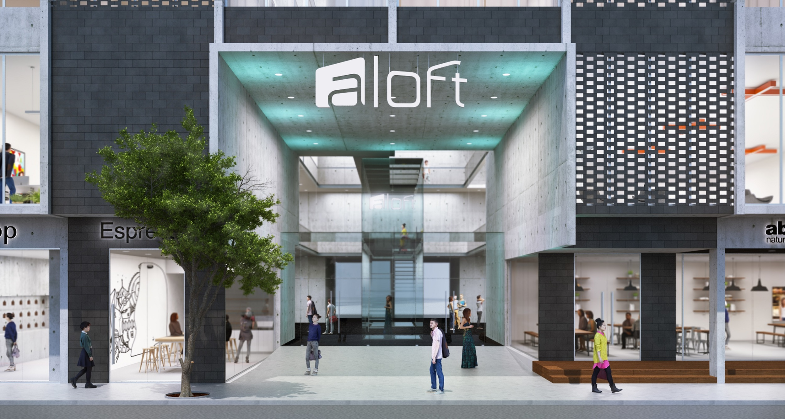 Hotel Render | Photo Credit: Aloft Melbourne South Yarra