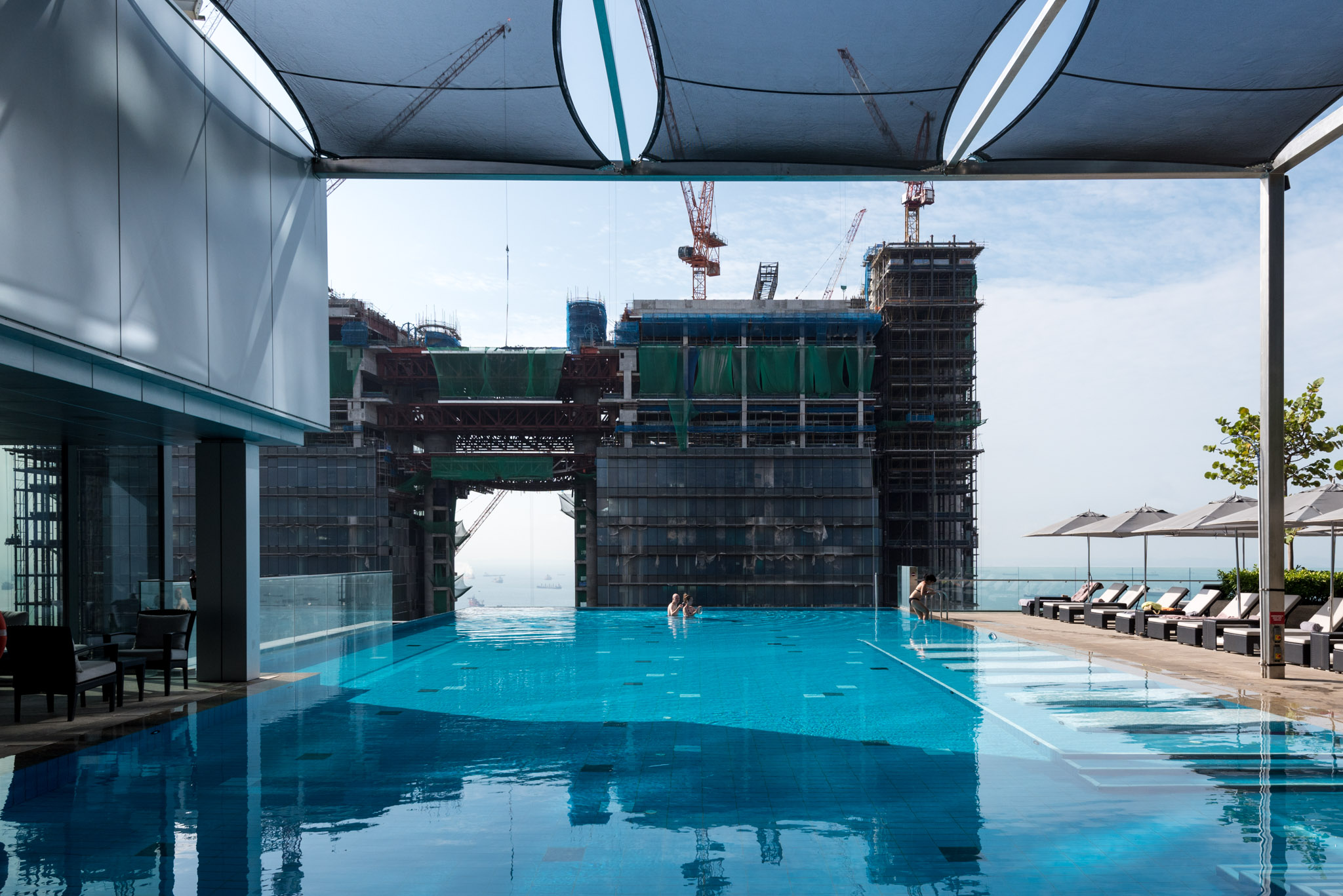 Outdoor Infinity Pool  The Westin Singapore