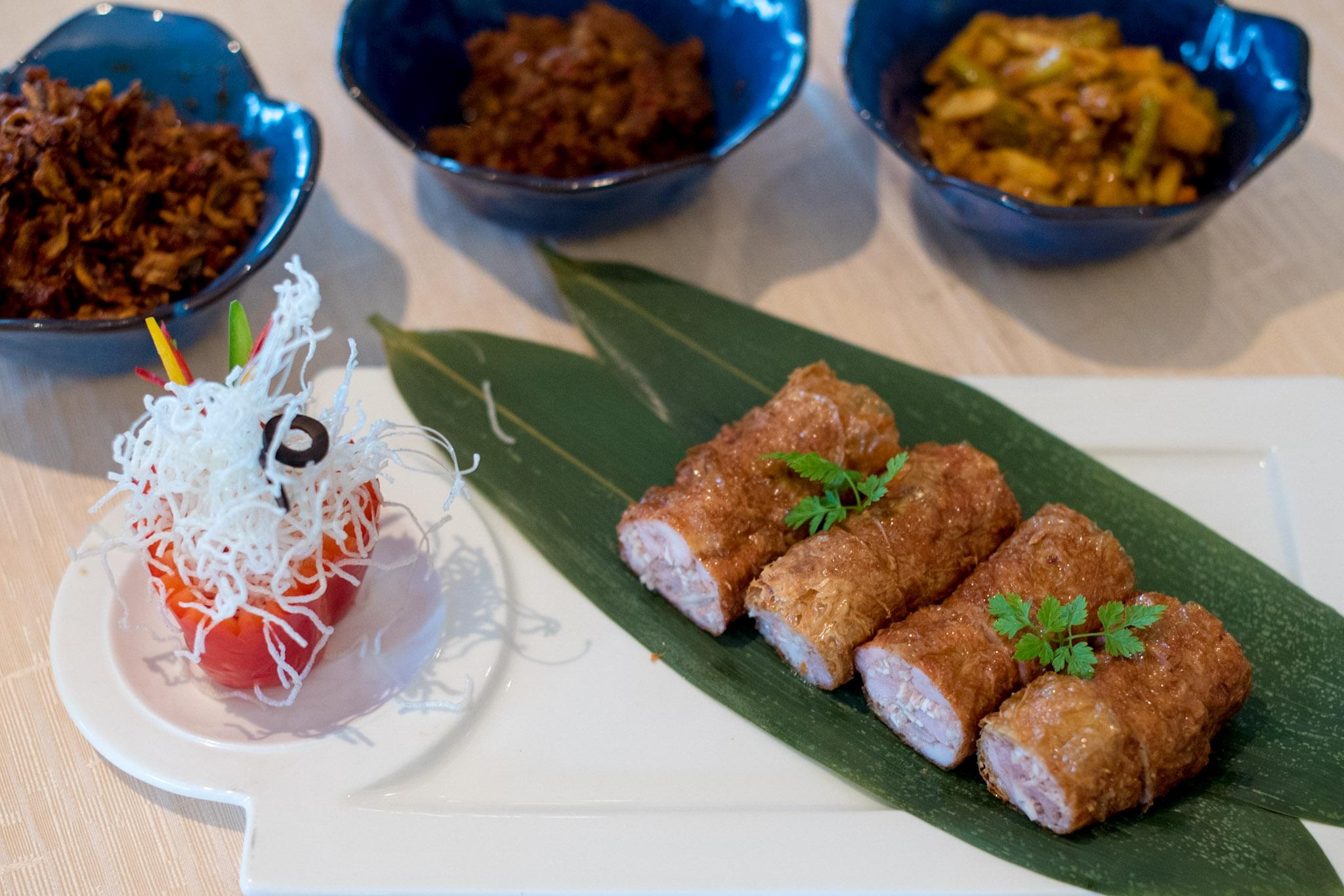 Five Spice Roll - Spice Market Cafe    Shangri-La's Rasa Sayang Resort & Spa, Penang