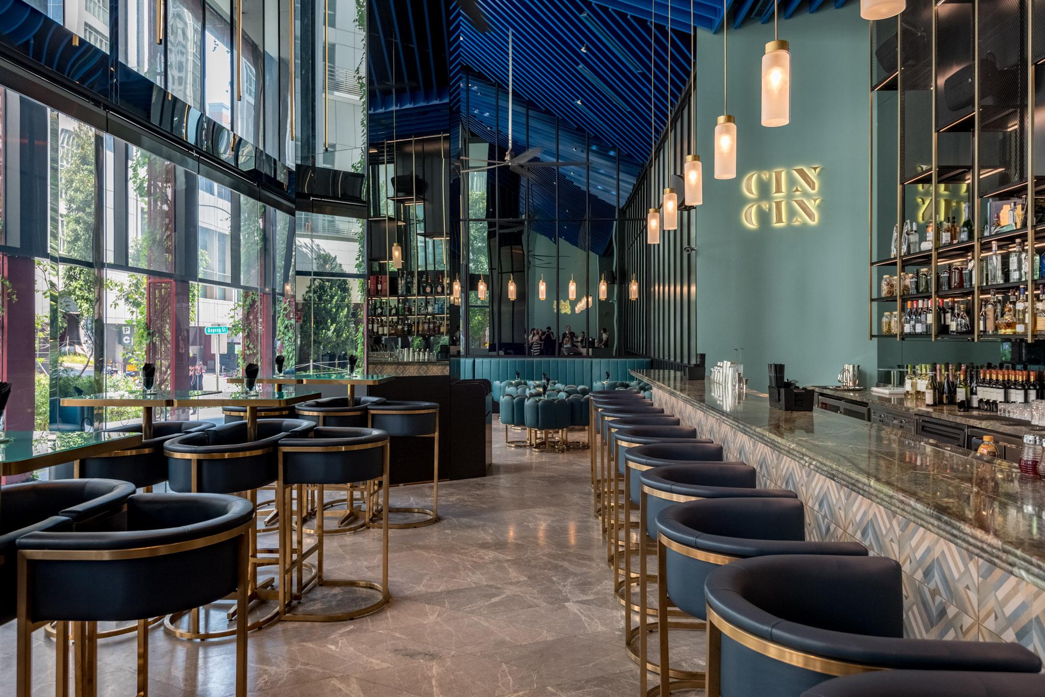 Cin Cin     Oasia Hotel Downtown Singapore