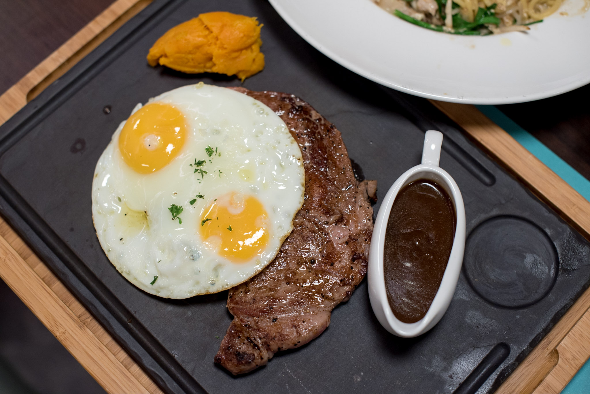 The Marmalade Steak and Eggs - Marmalade Pantry    Oasia Hotel Downtown Singapore