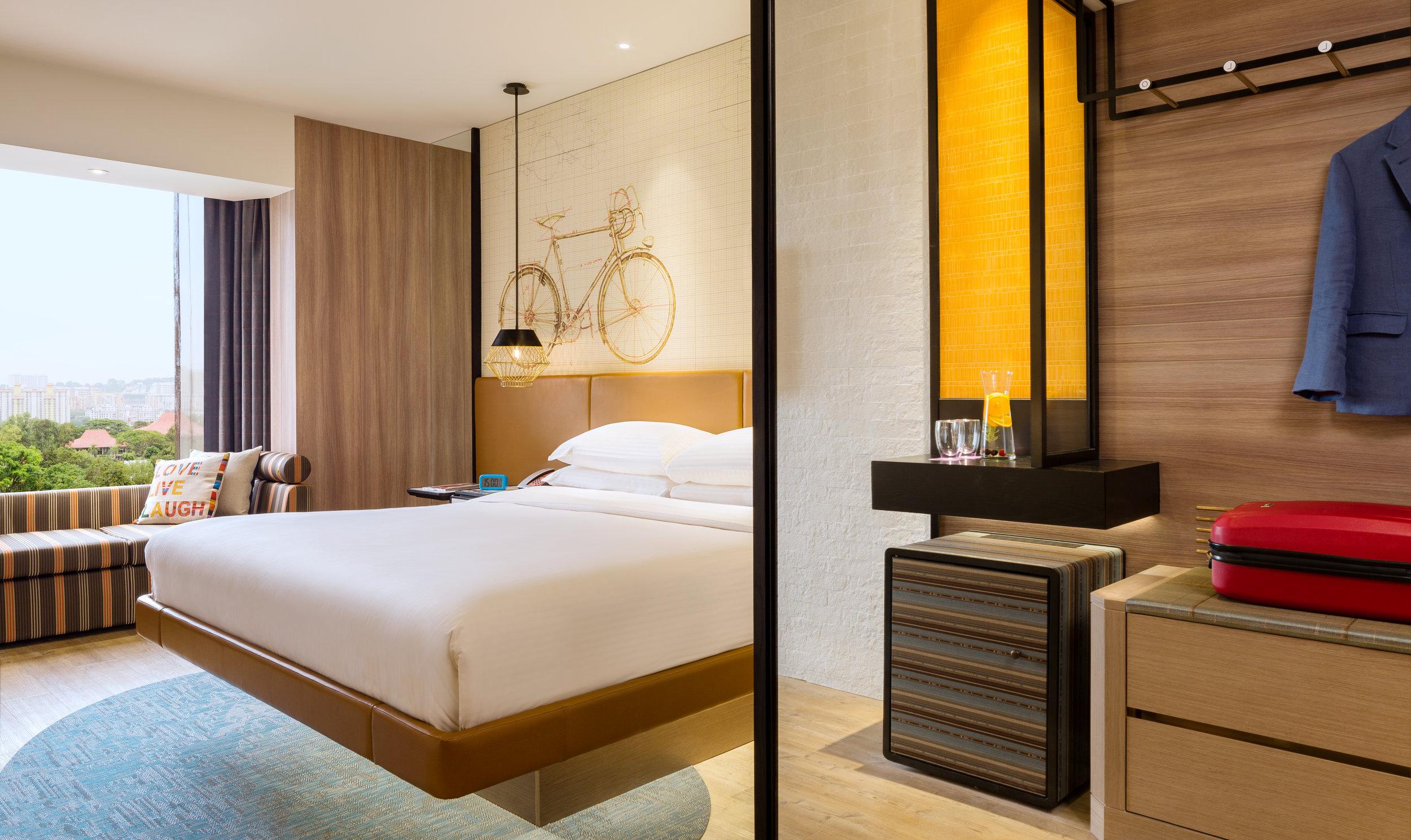 Superior Room   Photo Credit: Hotel Jen Tanglin Singapore