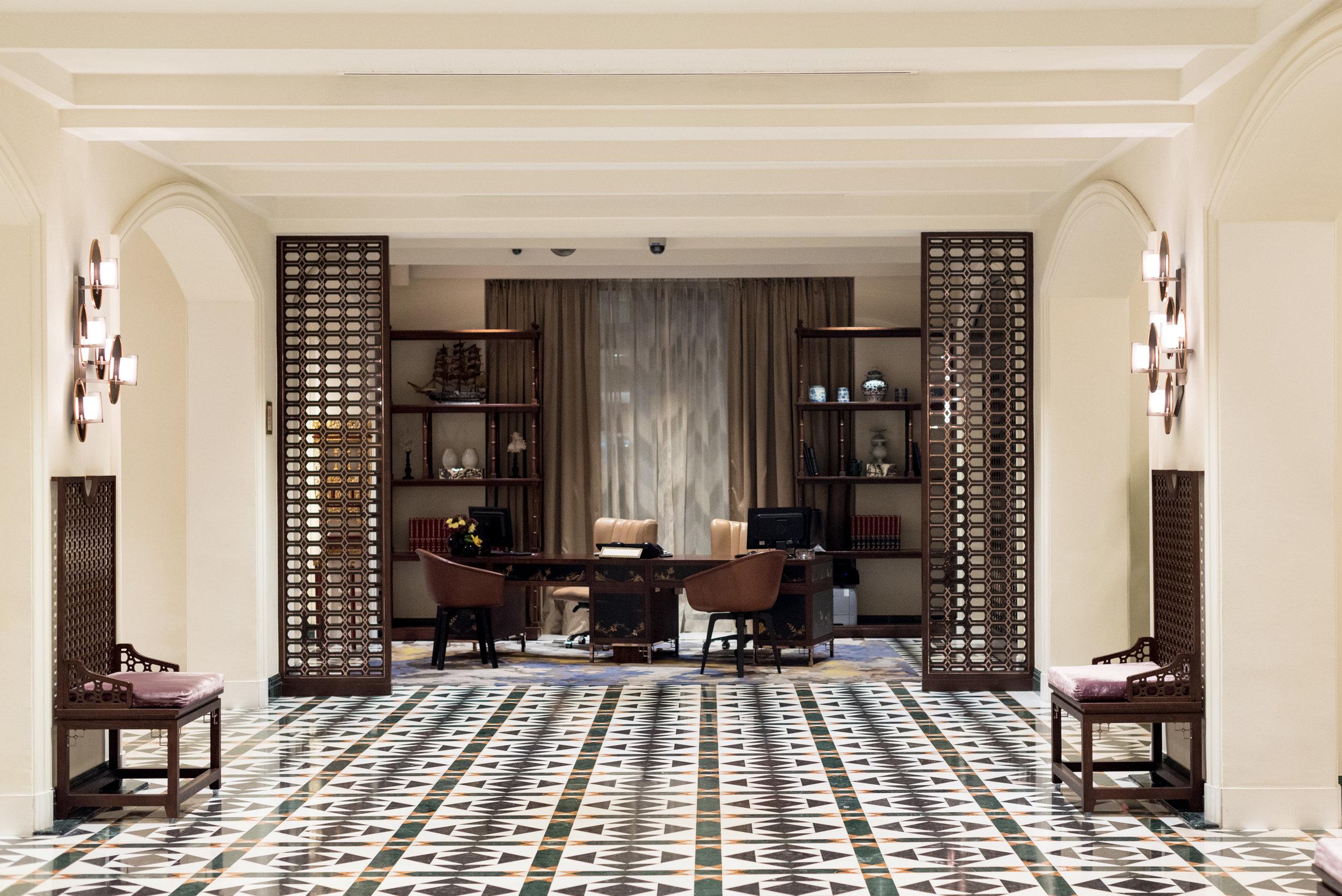 Hotel Lobby  Premier Suite - InterContinental Singapore