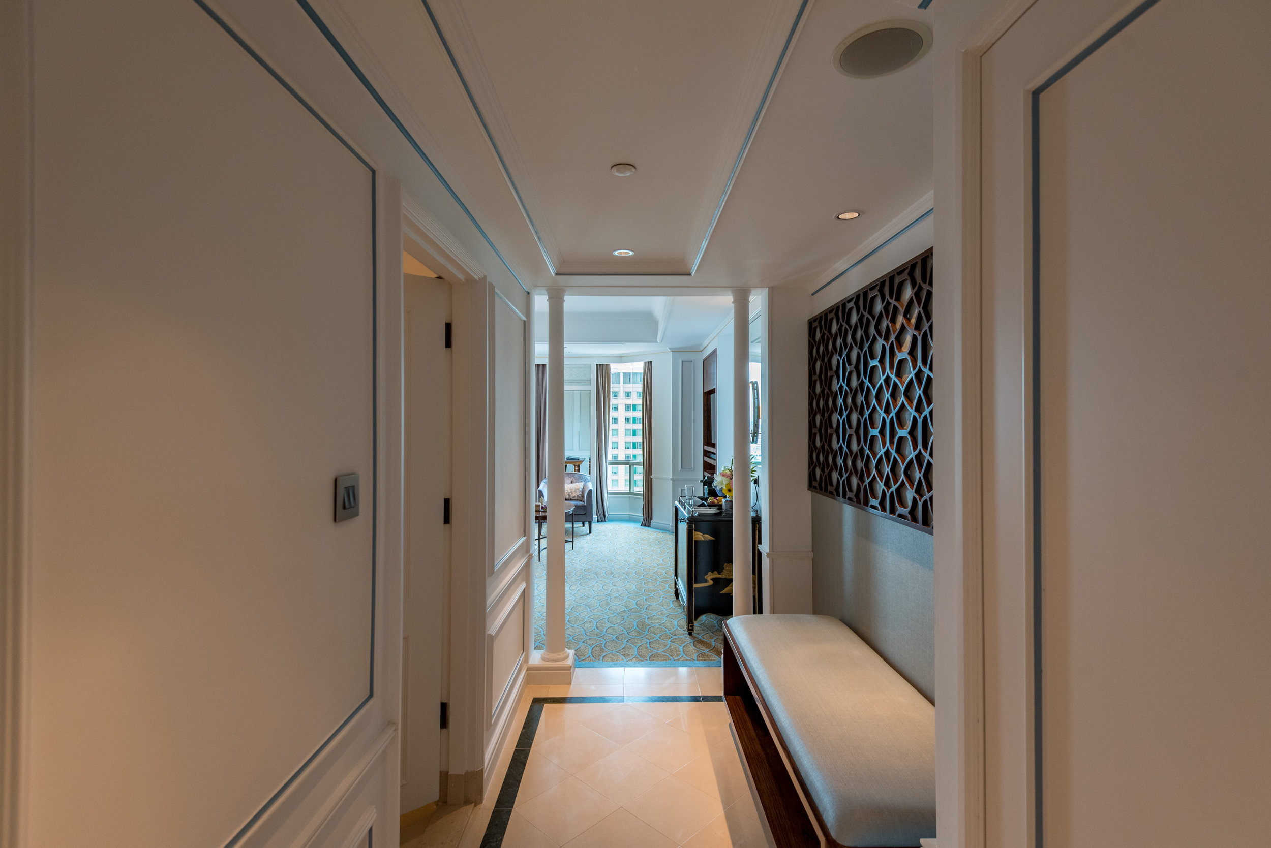 Suite Entrance  Premier Suite - InterContinental Singapore