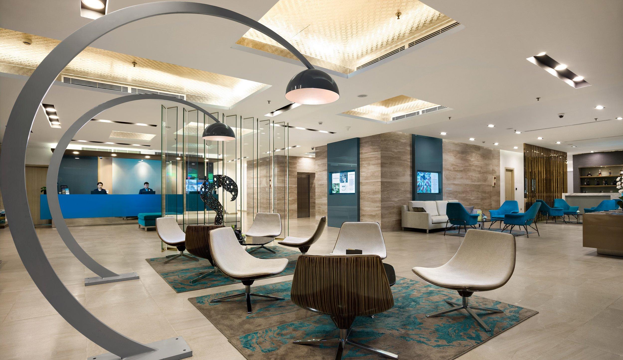Reception | Photo Credit: Novotel Suites Hanoi