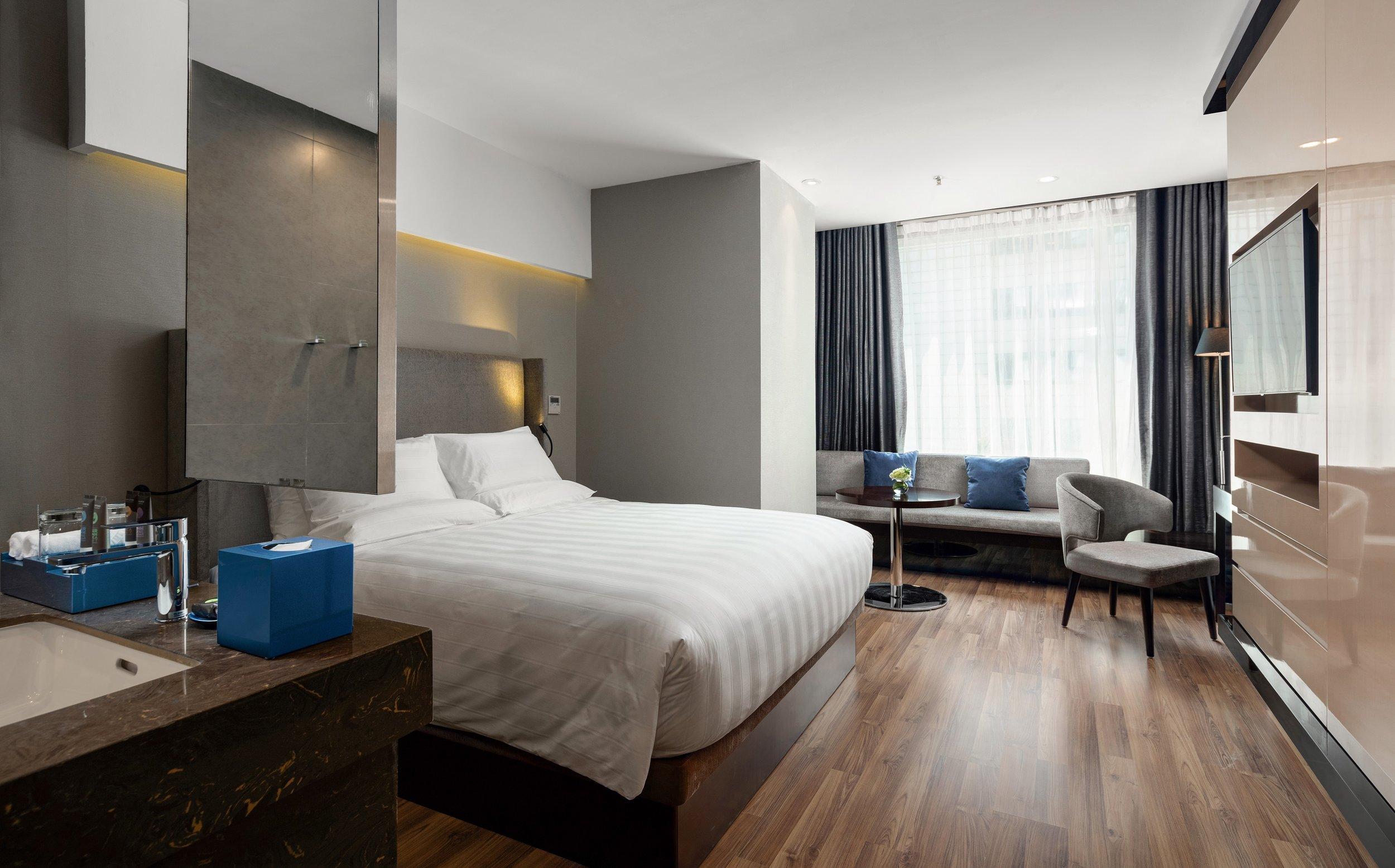 Bedroom | Photo Credit: Novotel Suites Hanoi