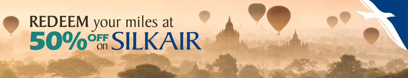 Save 50% KrisFlyer Miles | Photo Credit: Singapore Airlines
