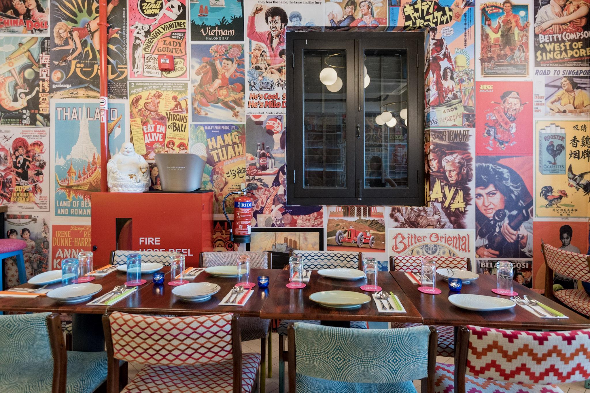 Restaurant Interiors  Ding Dong