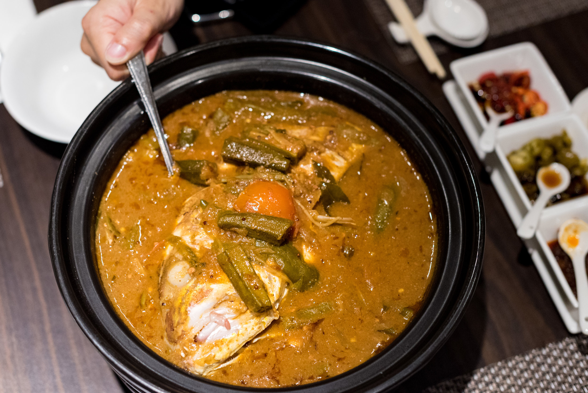 Fish Head Curry - Treasured Flavours of Singapore  White Rose Cafe - York Hotel Singapore