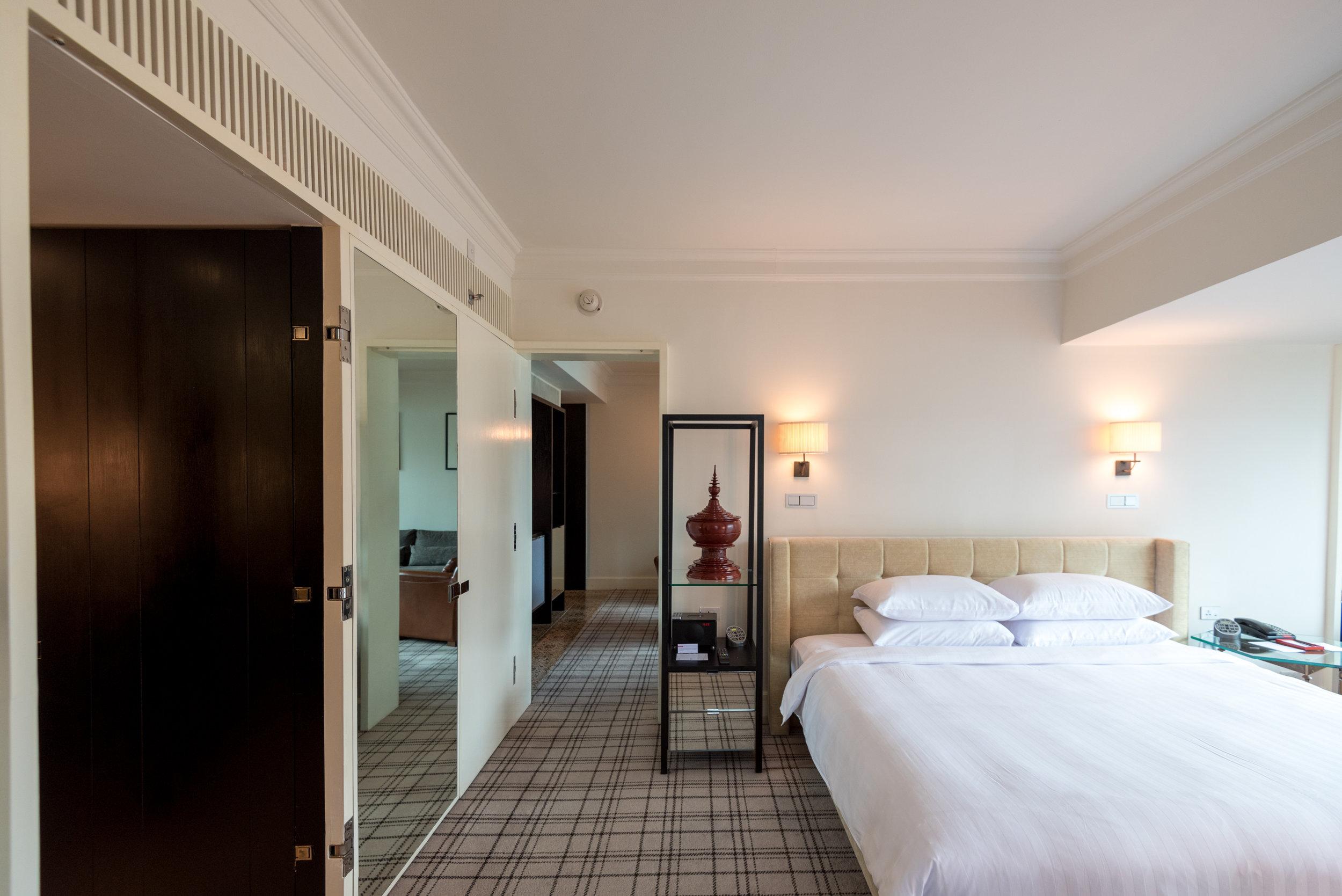 Bedroom     Grand Executive Suite King - Grand Hyatt Erawan Bangkok