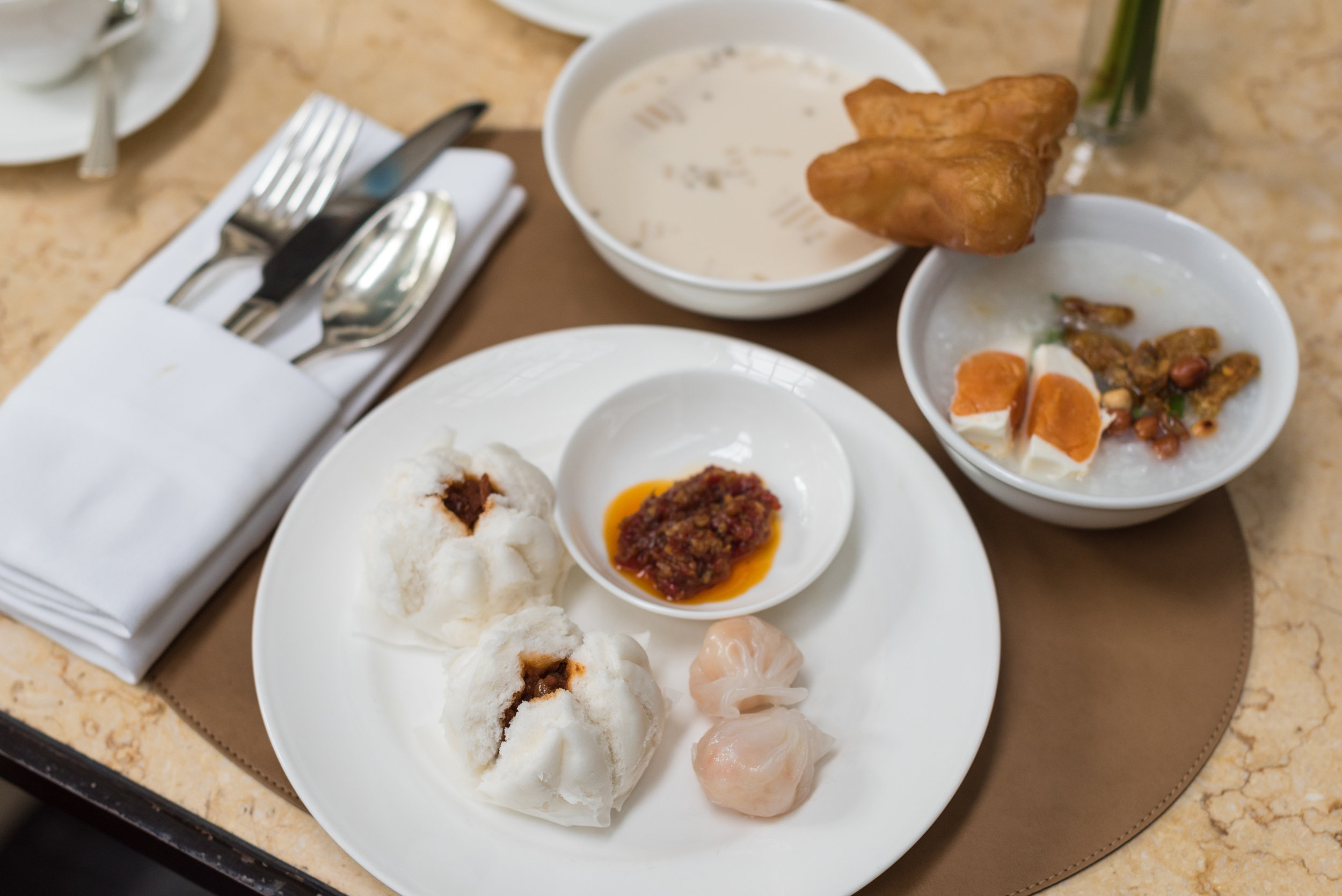 Breakfast at The Dining Room   Grand Hyatt Erawan Bangkok