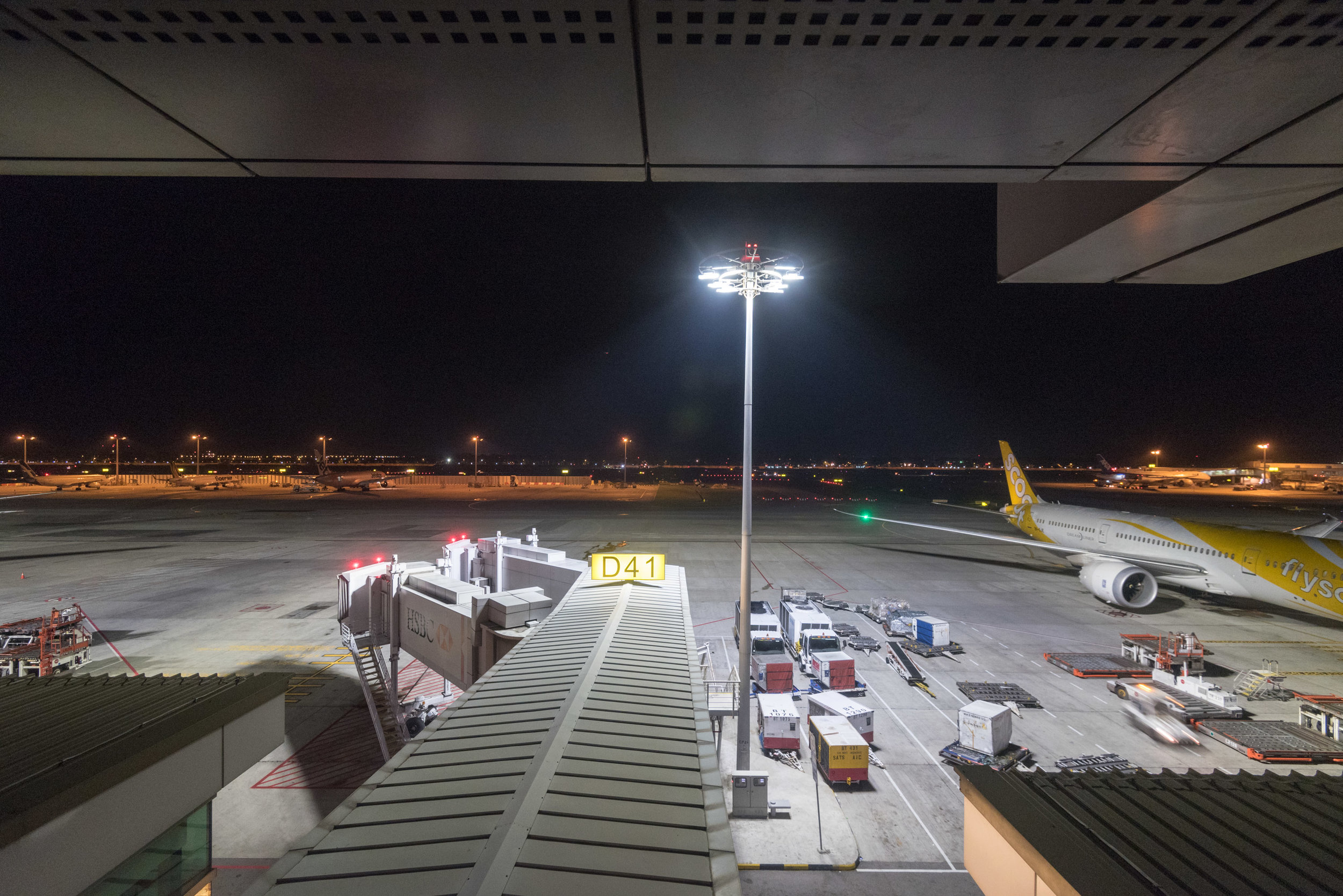 View from M Room (Twin)  Aerotel Singapore - Changi Airport, Singapore