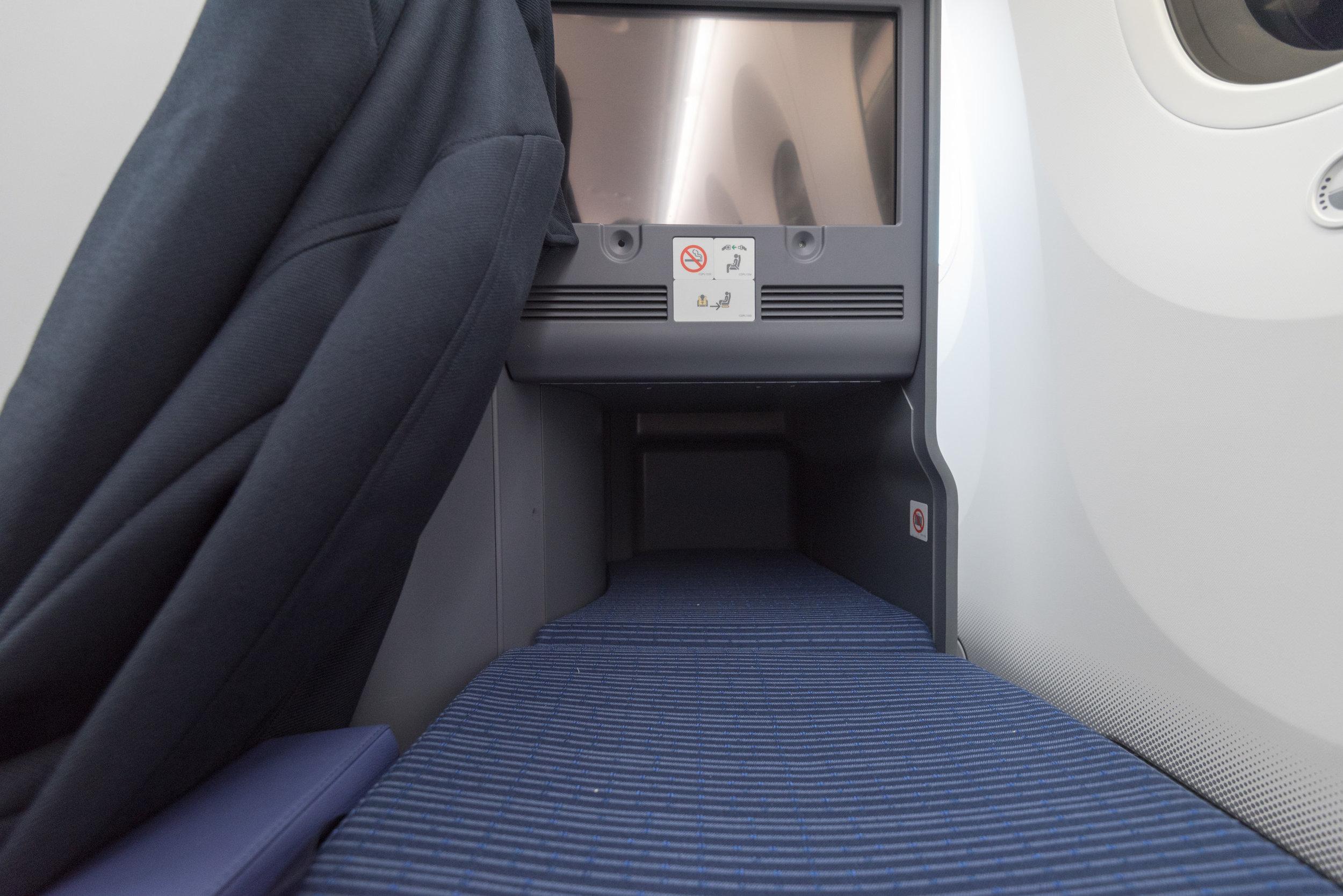 Flatbed  ANA Business Class 787-900 - NH859 (HND-HKG)