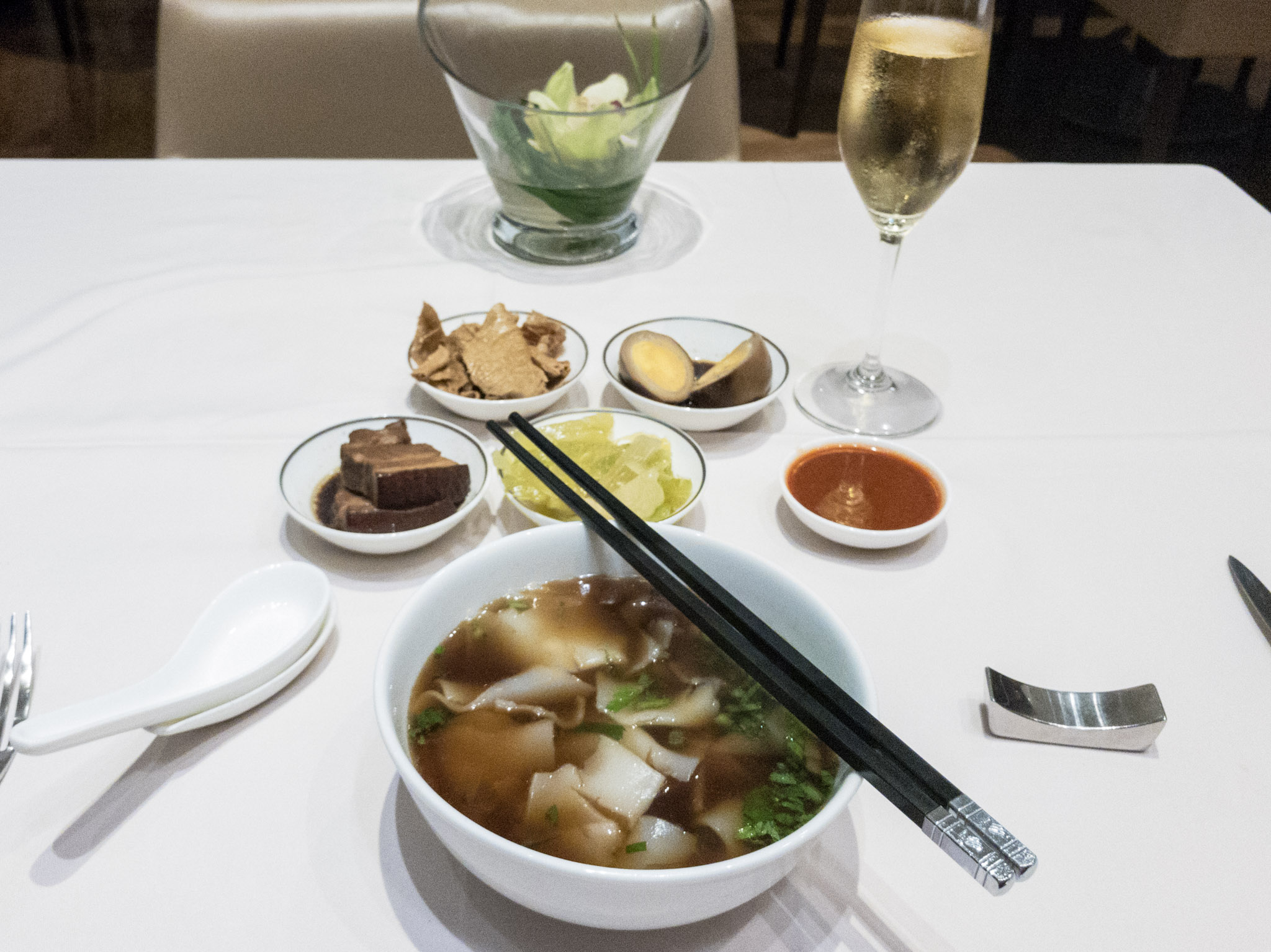 Kway Chap  The Private Room by Singapore Airlines (Changi Airport)
