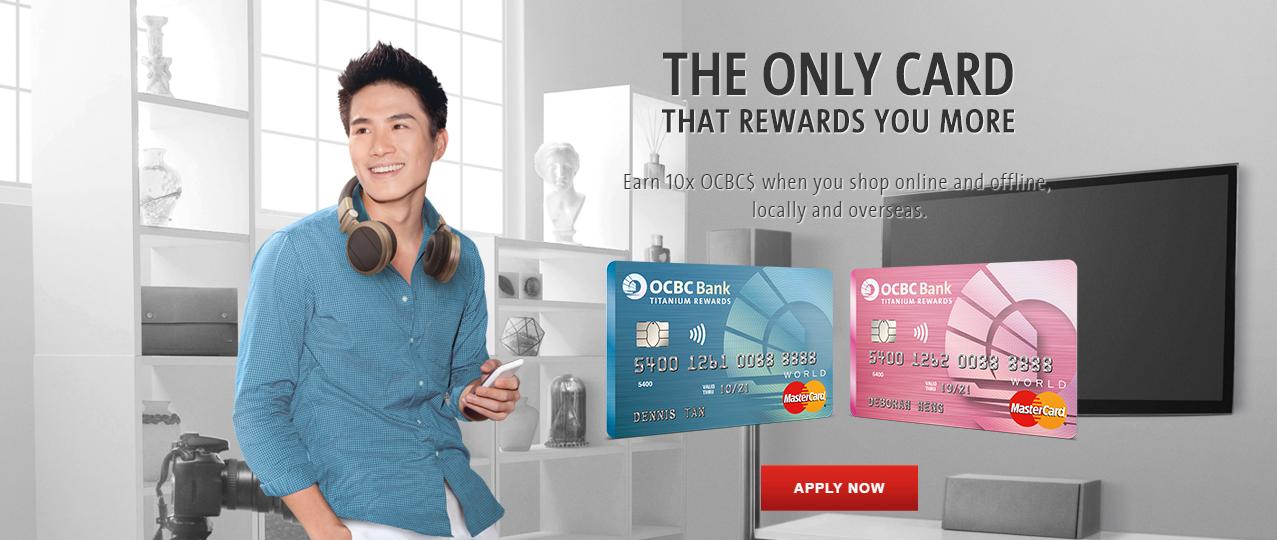 OCBC Titanium Rewards Card | Photo Credit: OCBC