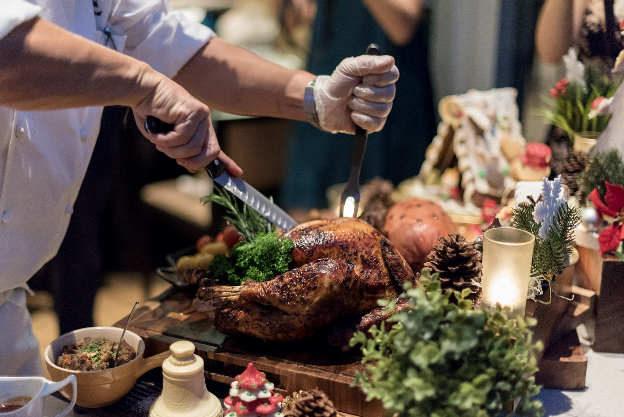 Whole Turkey - Christmas Day Luncheon    Pan Pacific Singapore