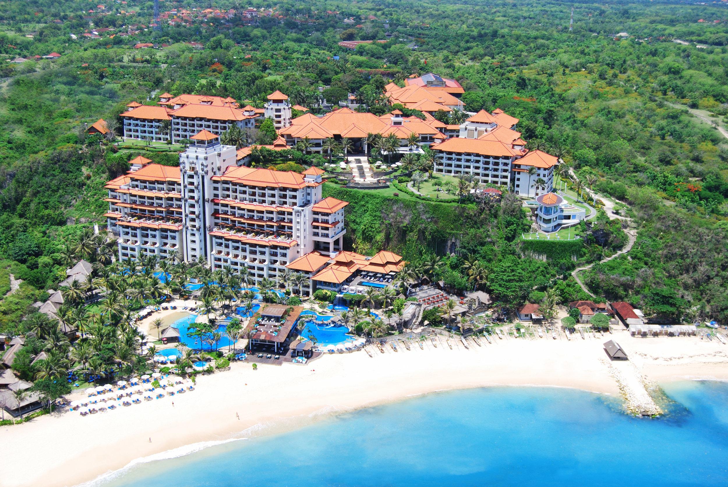Resort Exterior | Photo Credit: Hilton Bali Resort