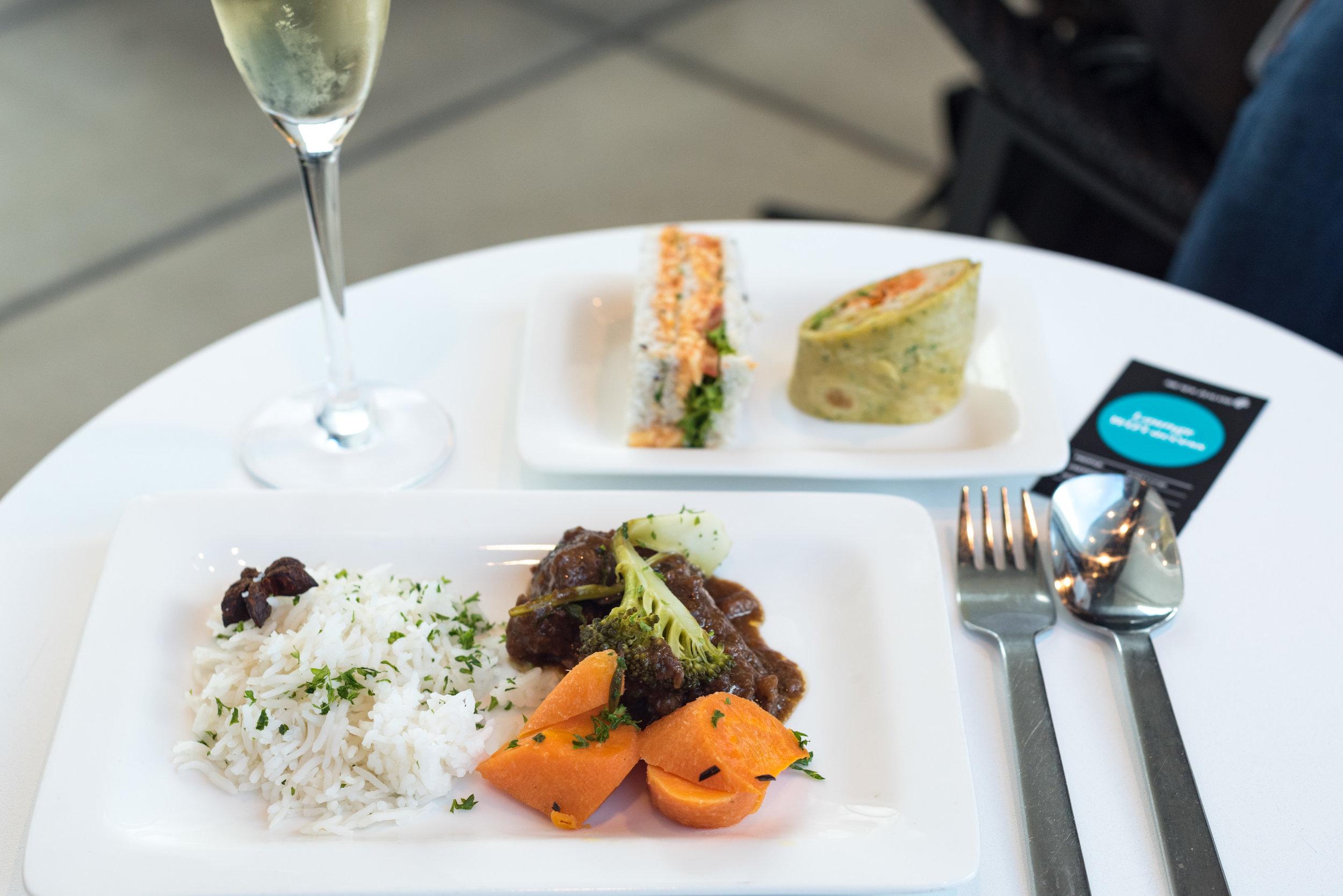 Champagne Breakfast   Air New Zealand Auckland International Lounge (New Zealand)