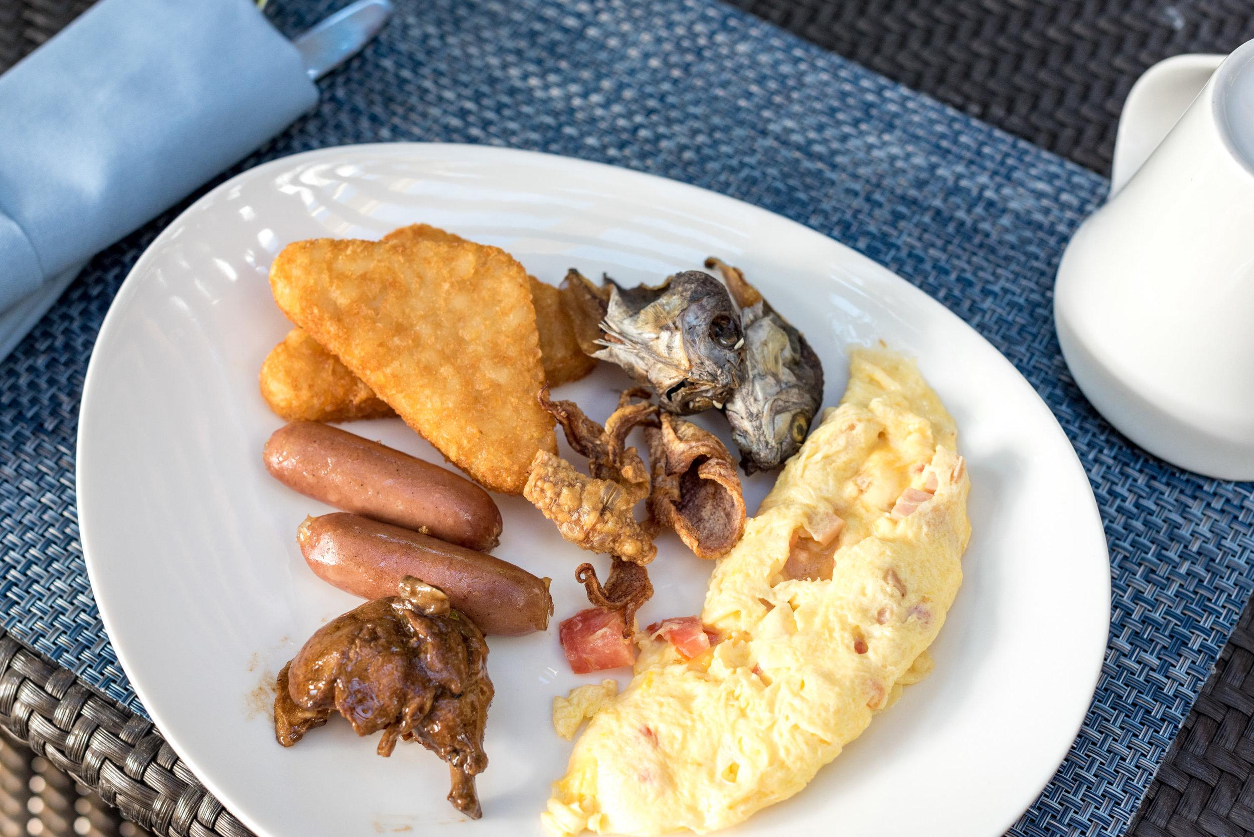 Breakfast Buffet at Tides  Shangri-La's Mactan Resort and Spa, Cebu