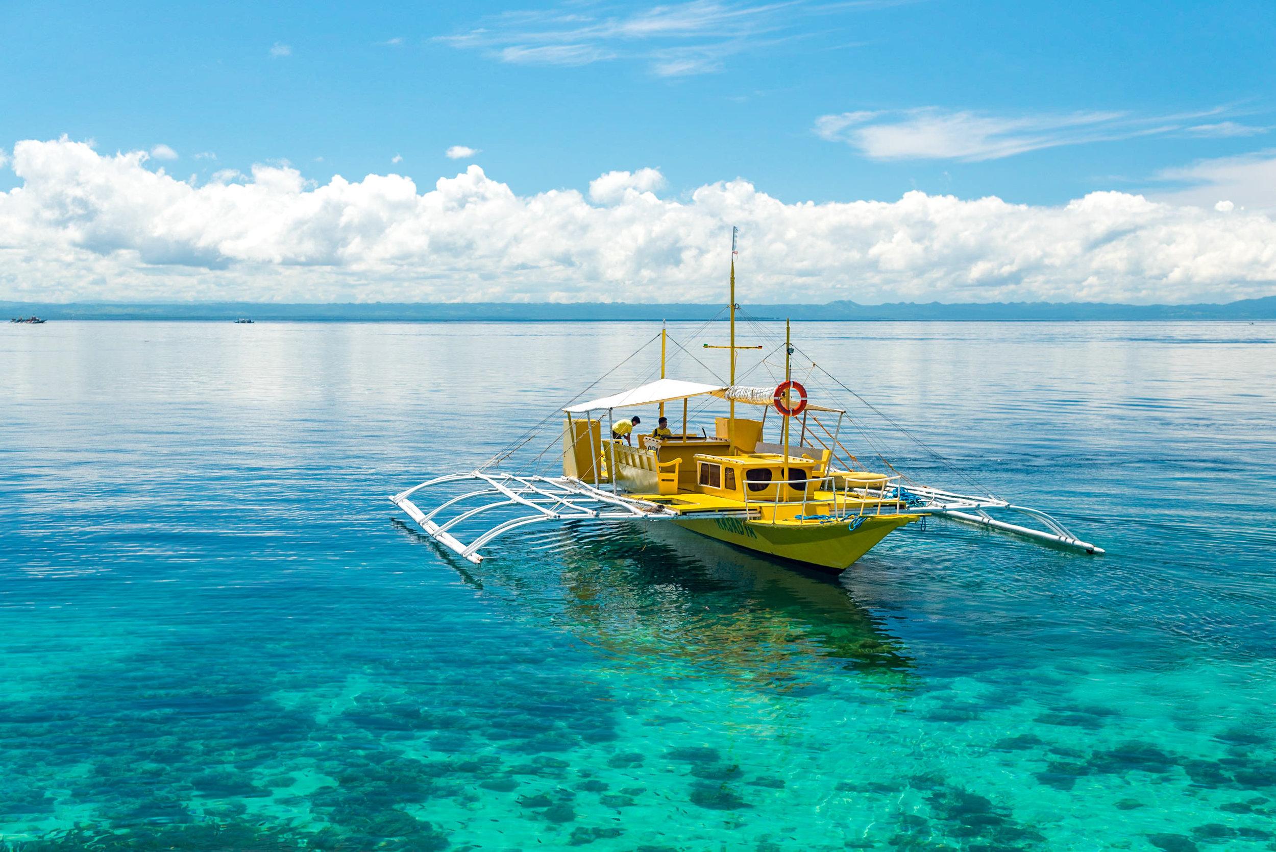Nalusuan Island  Shangri-La's Mactan Resort and Spa, Cebu