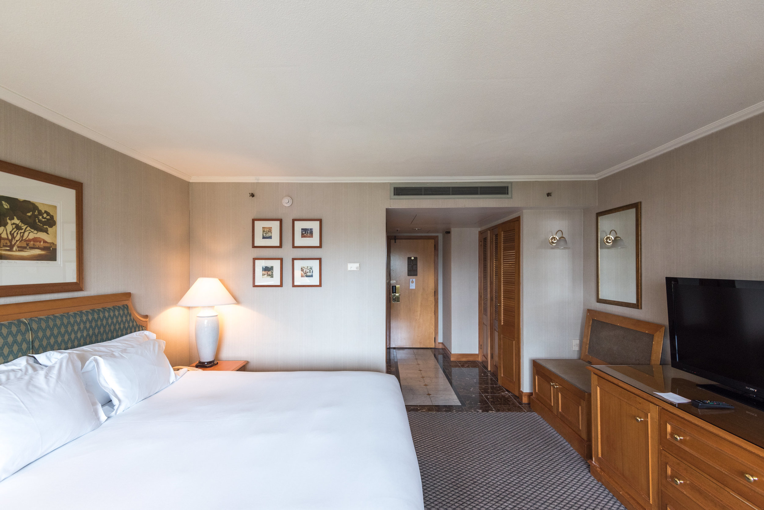 Bedroom    Superior Room -  The Langham, Auckland