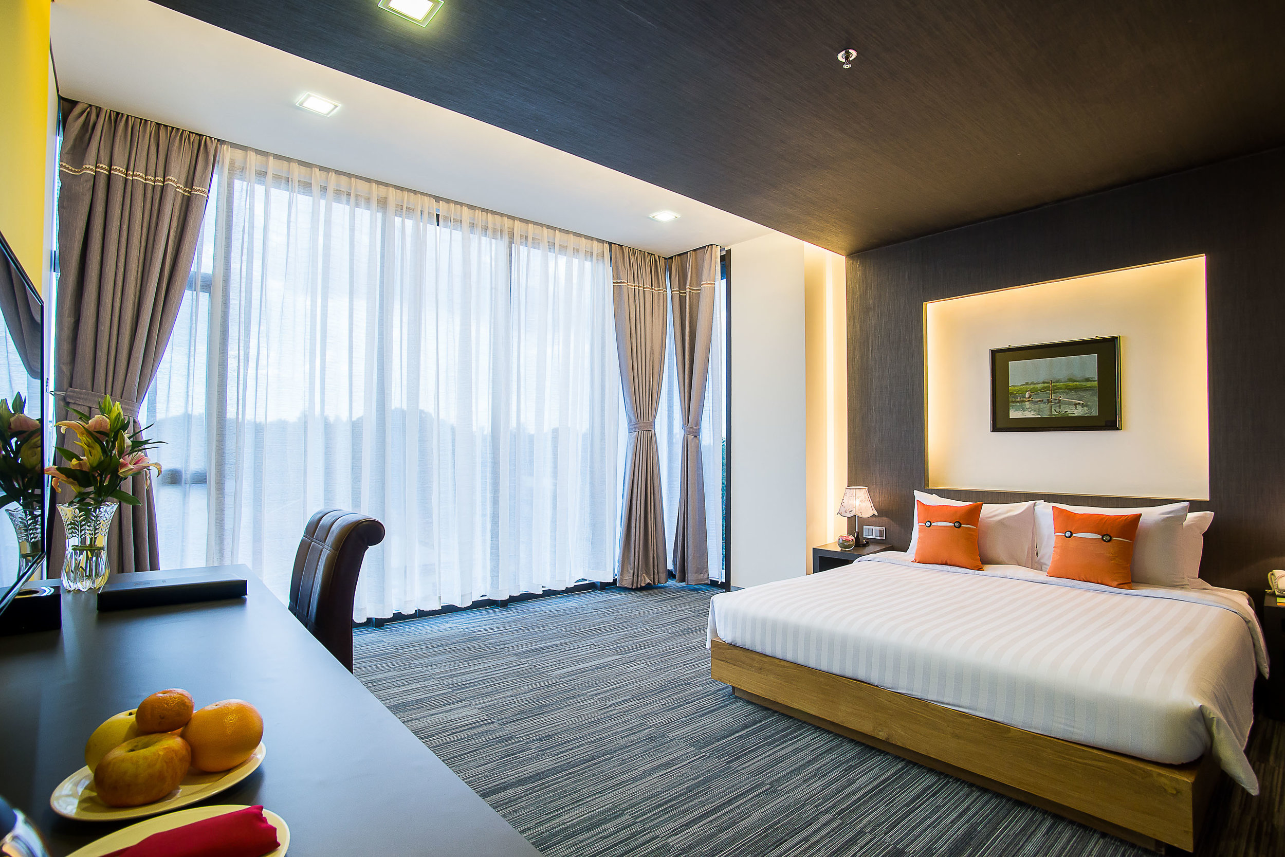 Deluxe Room at TRYP Yangon   Photo Credit: Wyndham Hotel Group