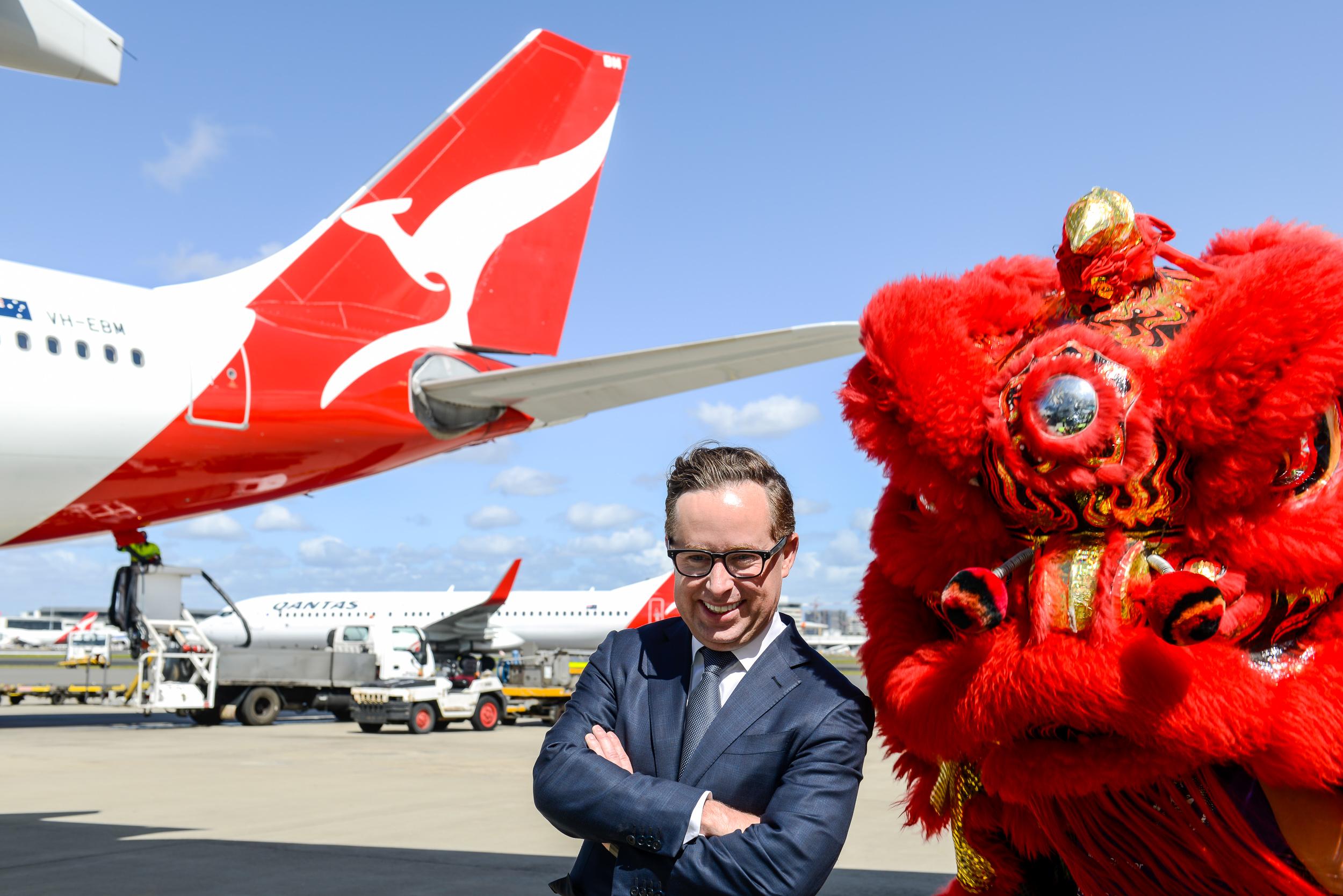 Alan Joyce | Photo Credit: Qantas