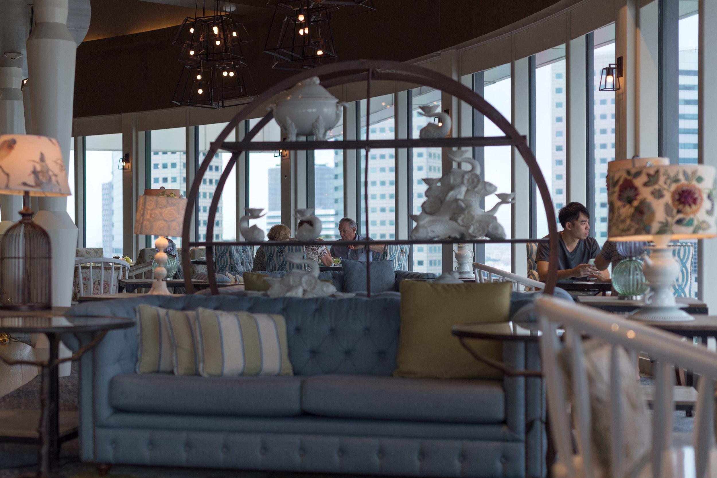 Interiors  Pacific Club - Pan Pacific Singapore