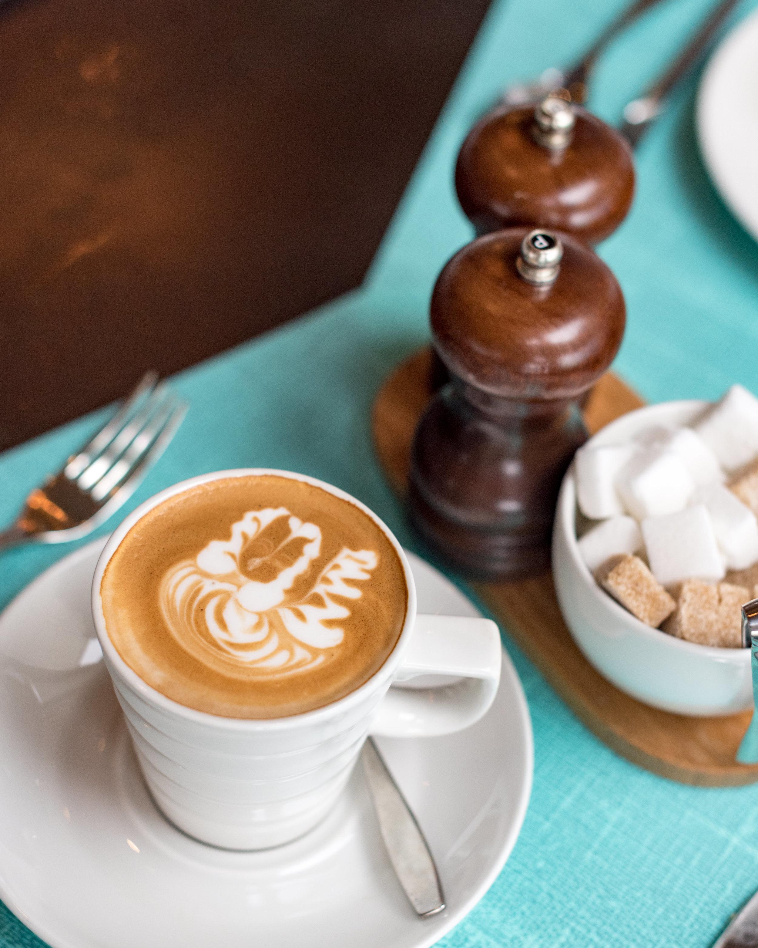 Latte Art  Pacific Club - Pan Pacific Singapore