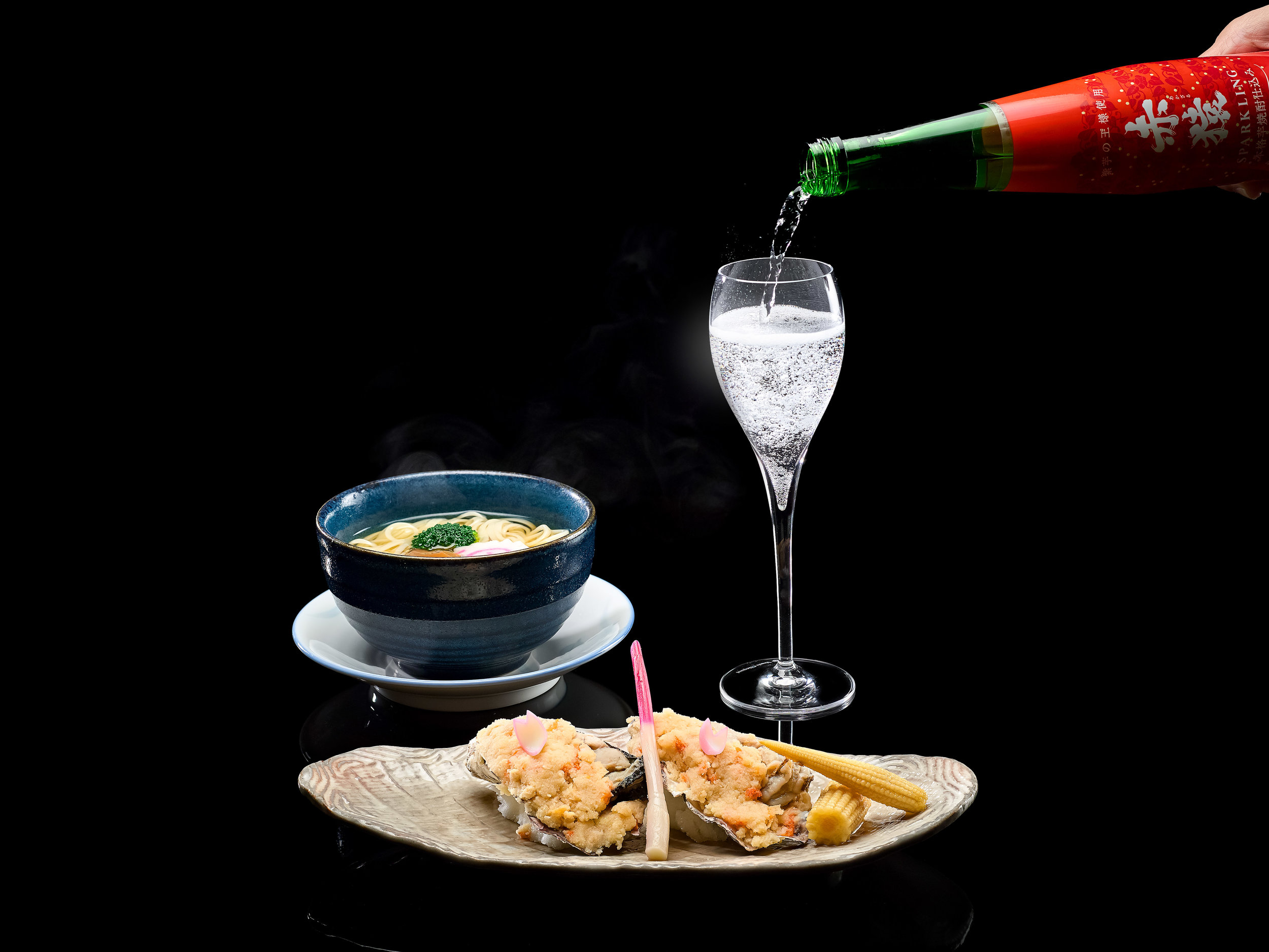 Weekend Japanese Bubbly Brunch at Keyaki   Photo Credit: Pan Pacific Singapore