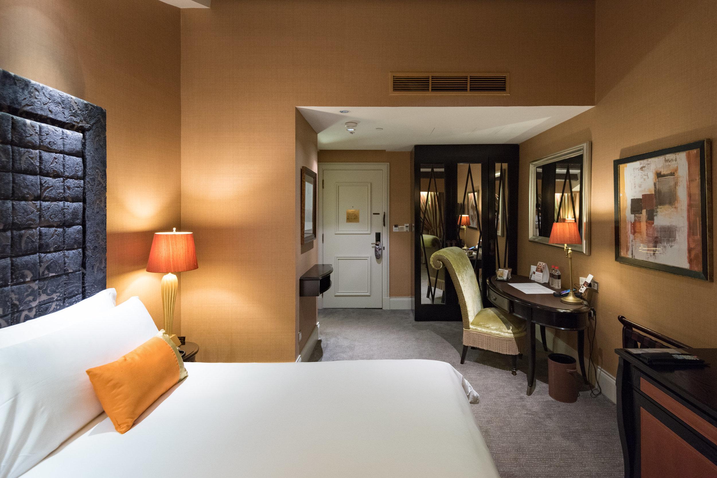 Bedroom  Premium Room - The Scarlet Singapore