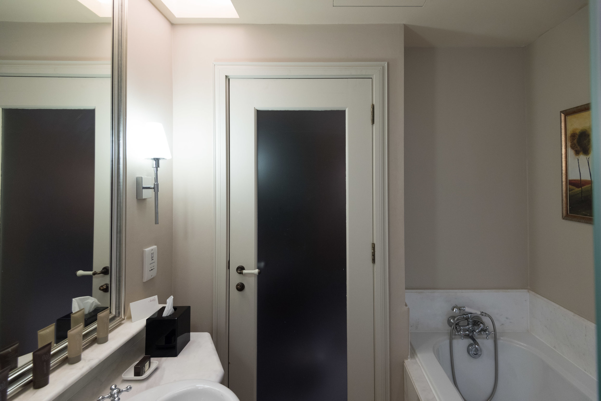 Bathroom  Premium Room - The Scarlet Singapore