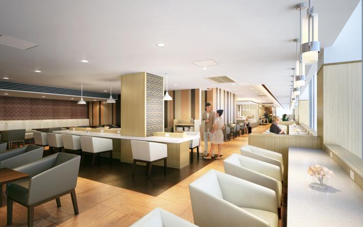 Bangkok Sakura Lounge   Photo Credit: Japan Airlines