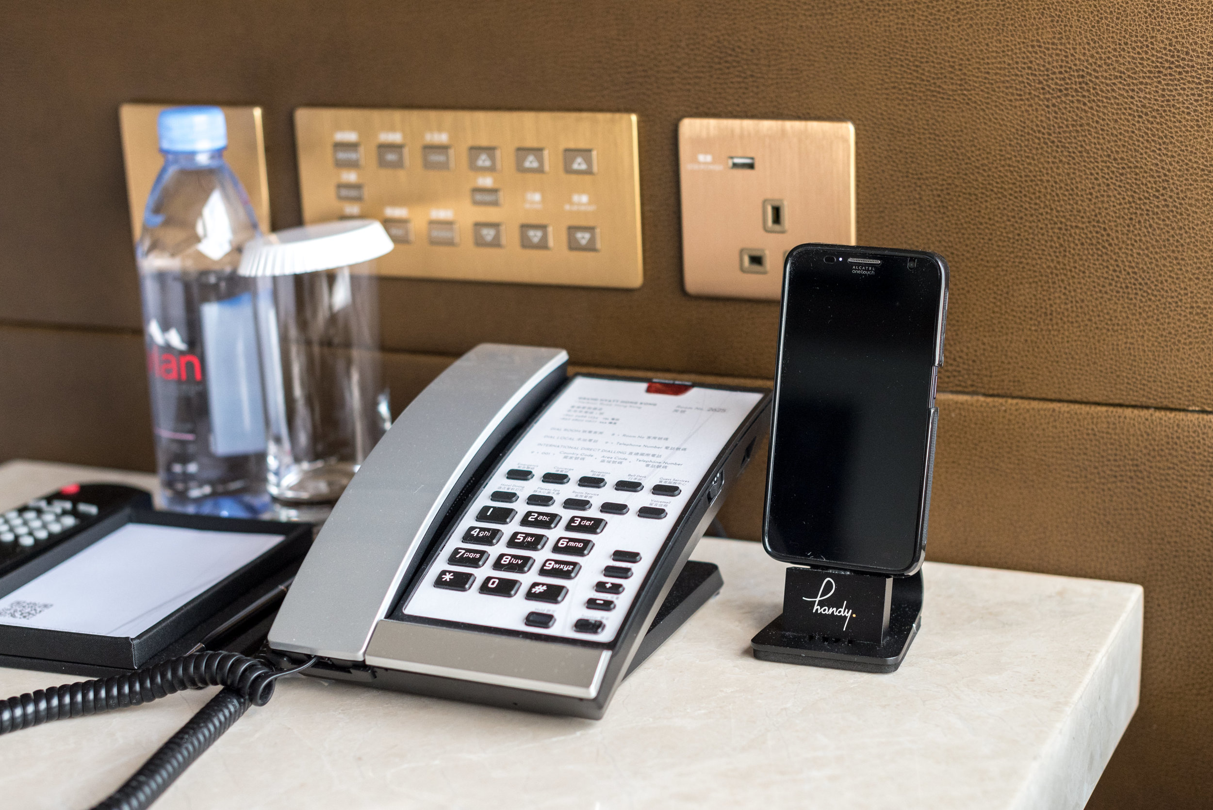 Handy Phone with Unlimited Data  Victoria Harbour Suite - Grand Hyatt Hong Kong