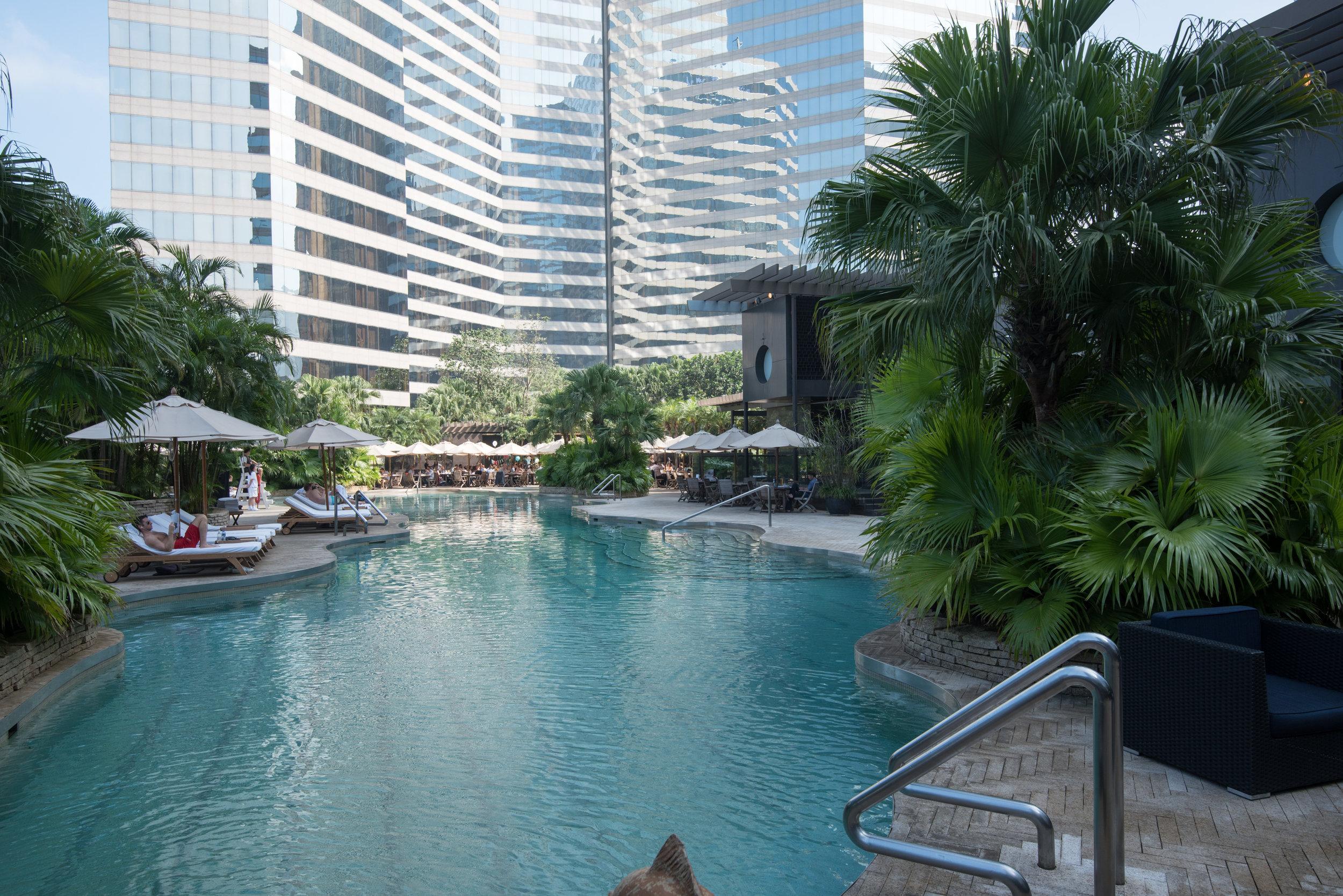 Swimming Pool  Grand Hyatt Hong Kong