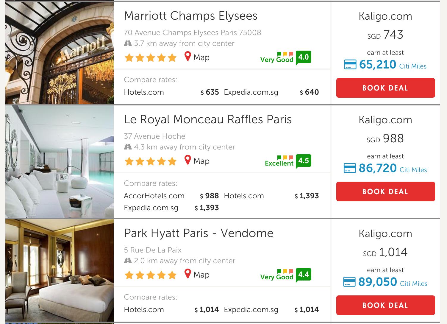 Rake Up Miles with Hotel Stays on Kaligo