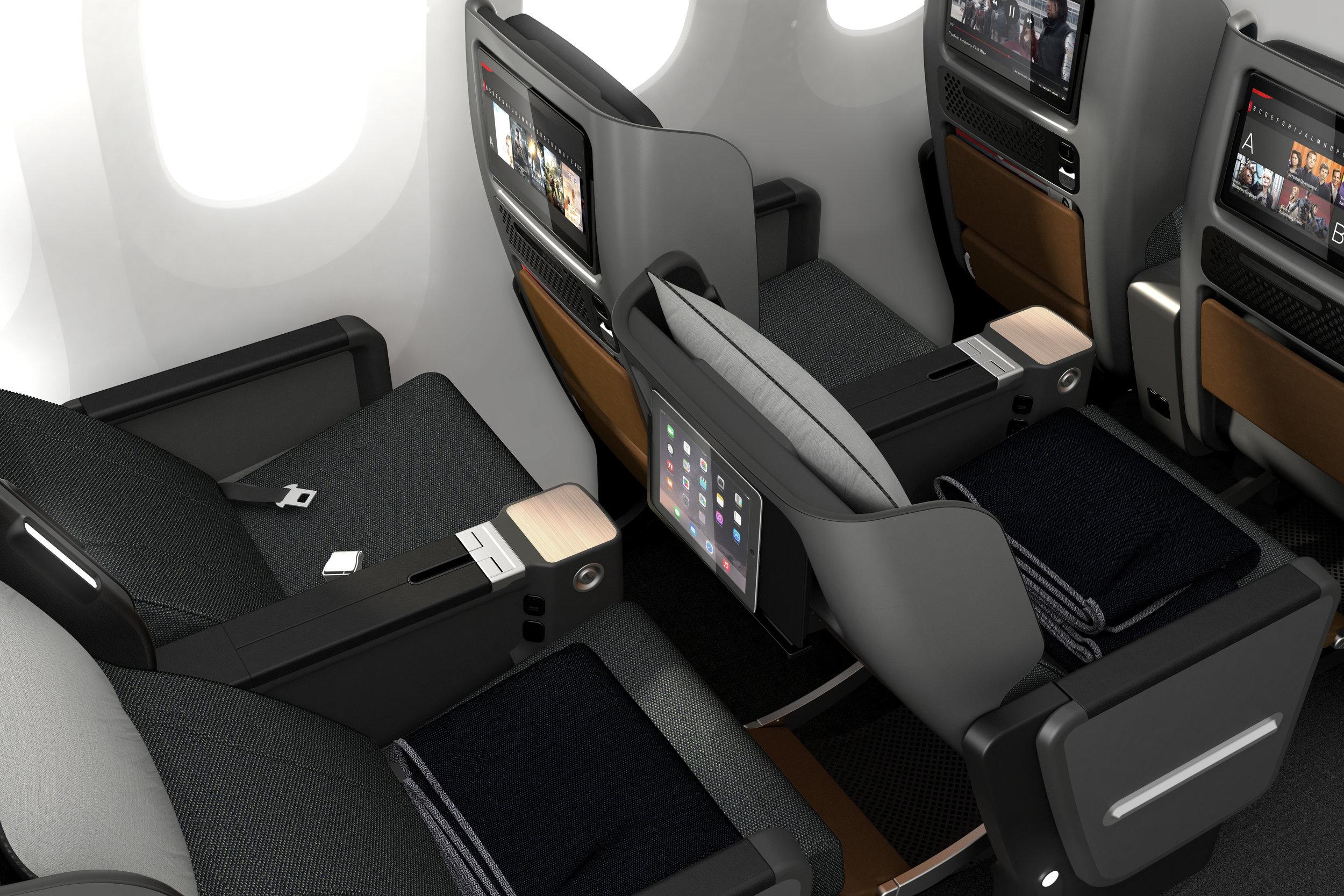 New Premium Economy Seats on Qantas' Dreamliner B787-9 | Photo Credit: Qantas