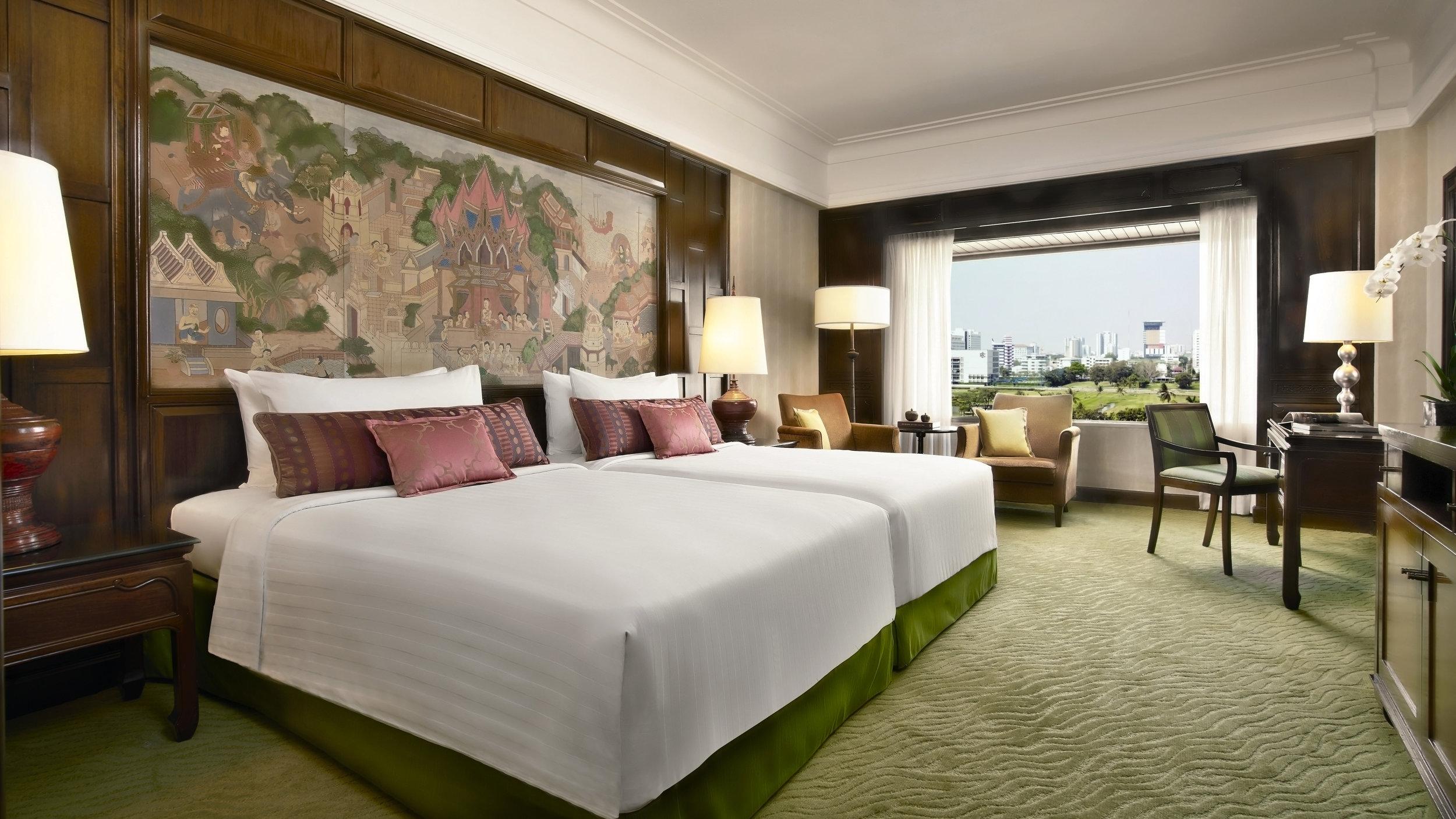 Deluxe Room | Photo Credit: Anantara Siam Bangkok Hotel