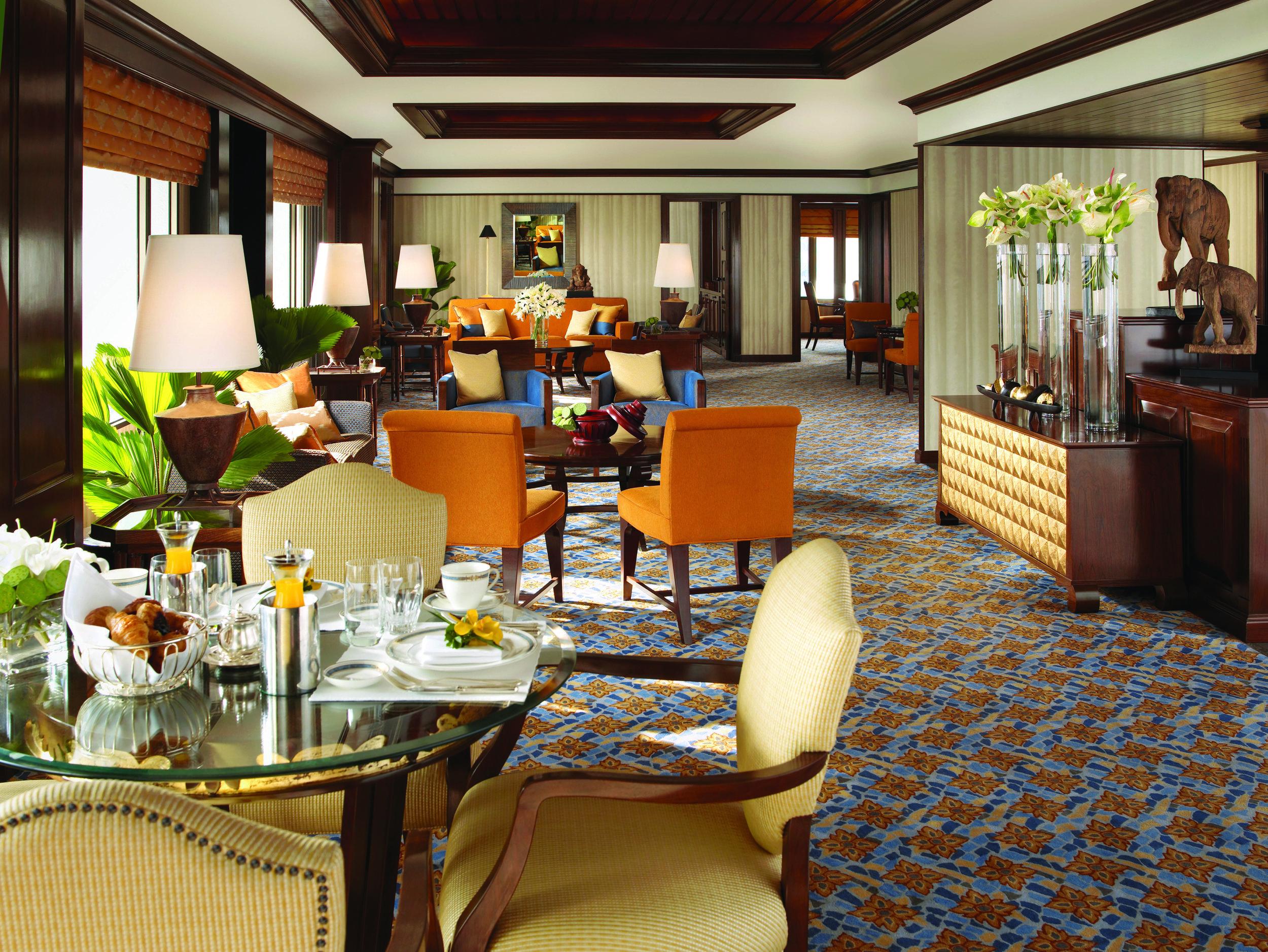 Kasara Executive Lounge | Photo Credit: Anantara Siam Bangkok Hotel