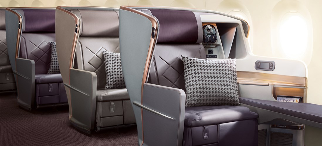 Business Class on Singapore Airlines A350 | Photo Credit: Singapore Airlines