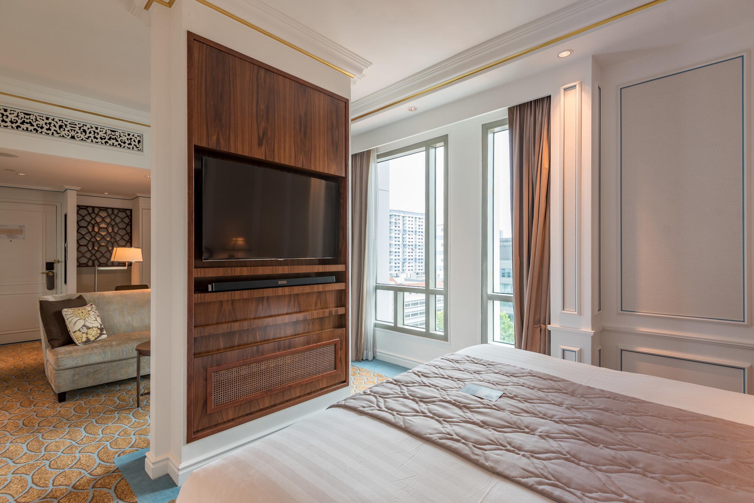 Bedroom  Grand Deluxe Room - InterContinental Singapore