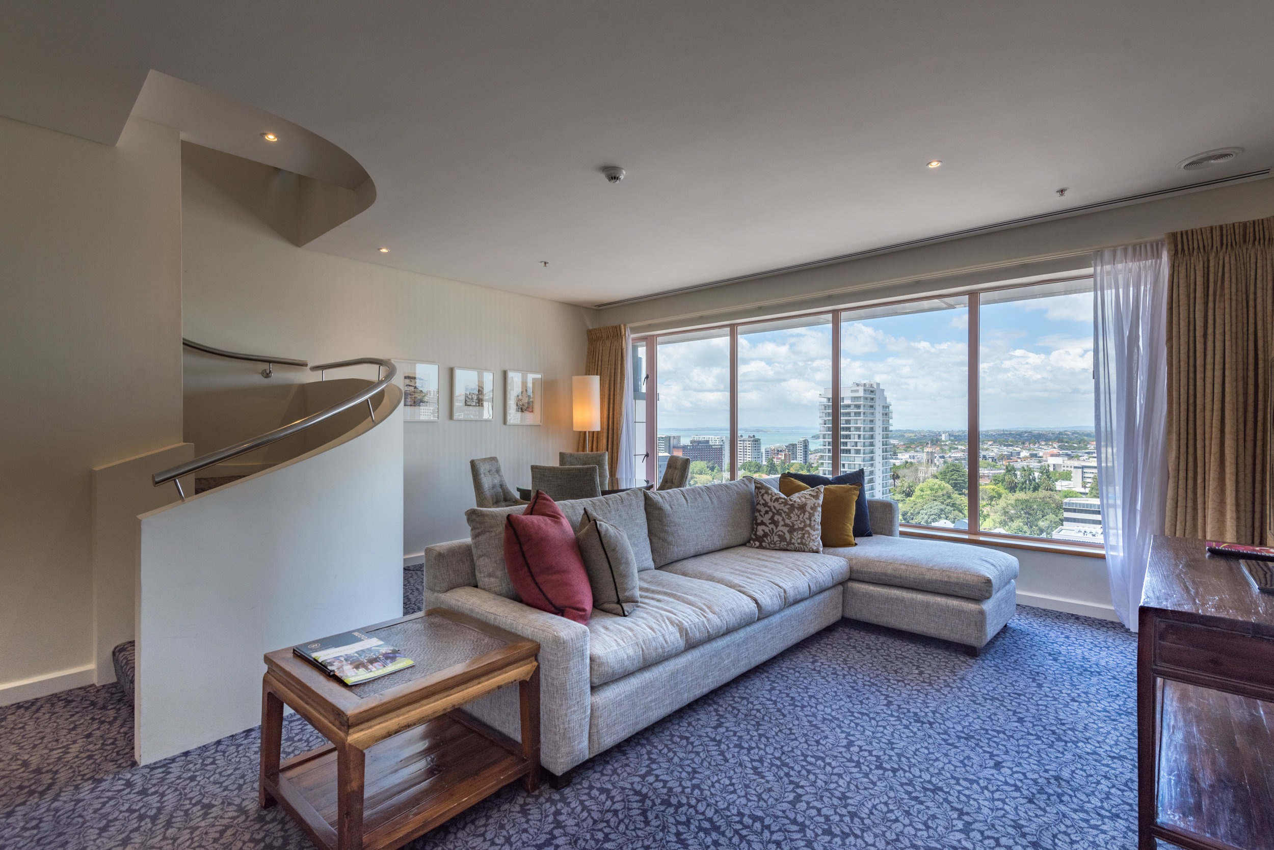 Living Room (Lower Level)  Executive Suite - Crowne Plaza Auckland
