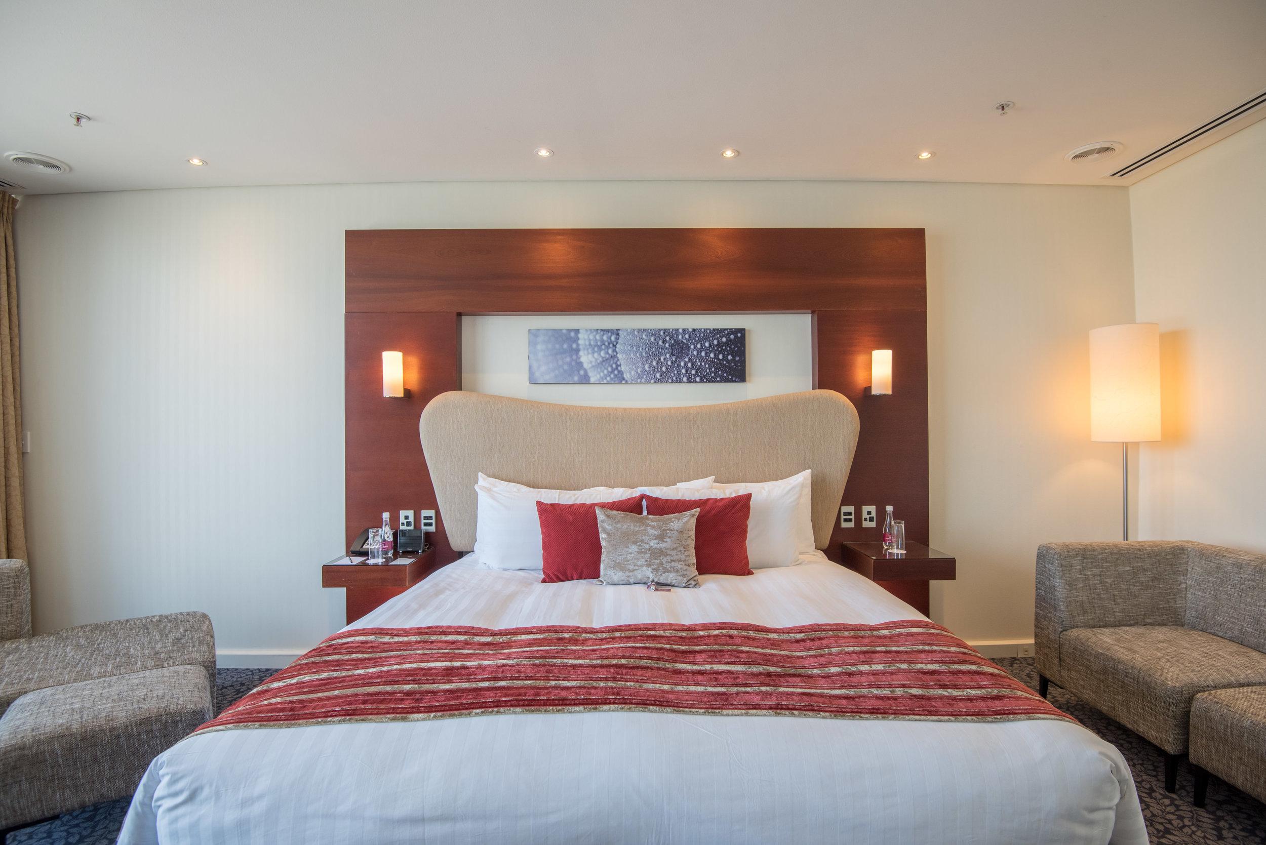 Bedroom (Upper Level)  Executive Suite - Crowne Plaza Auckland