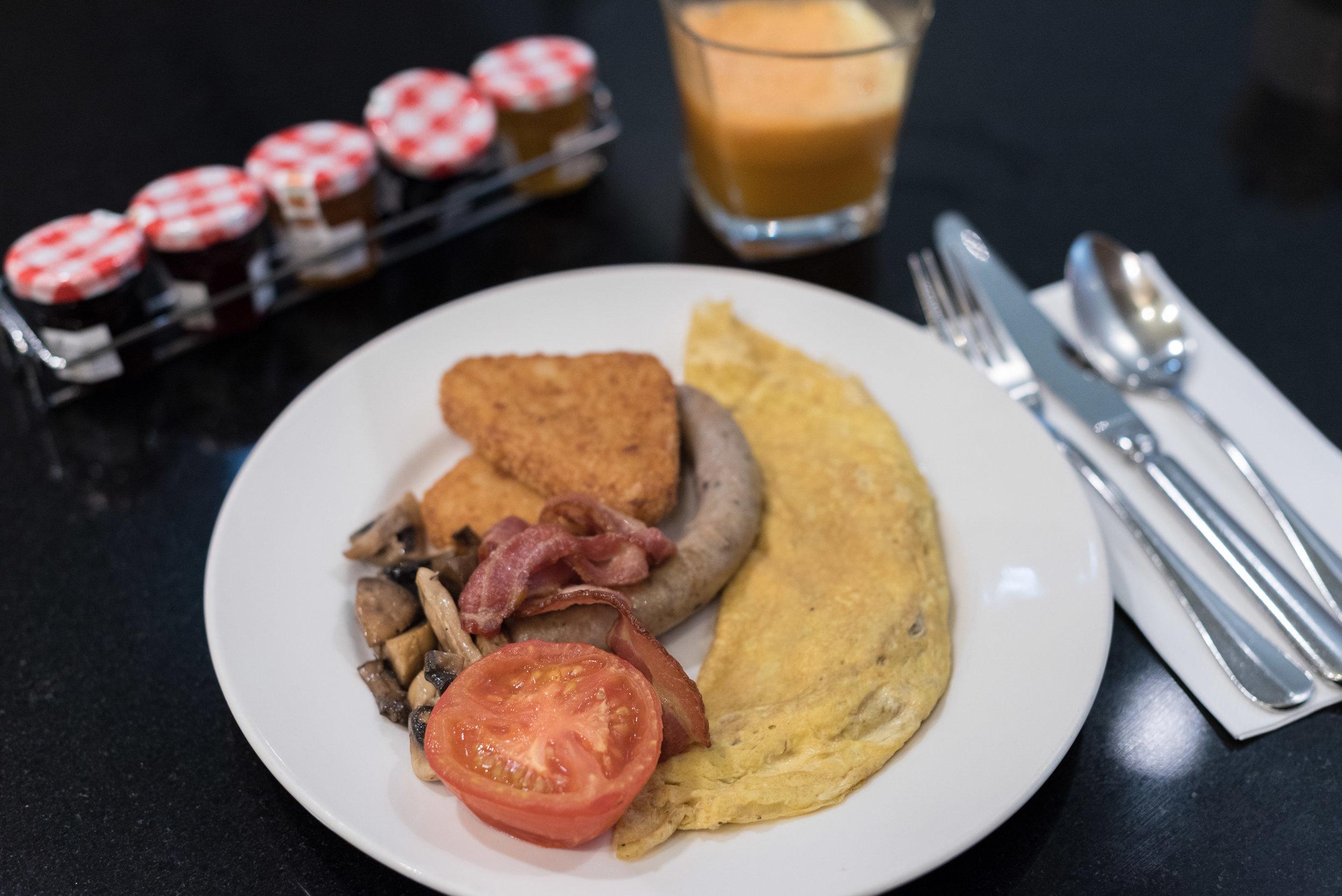 Buffet Breakfast  Aria Restaurant and Bar - Crowne Plaza Auckland