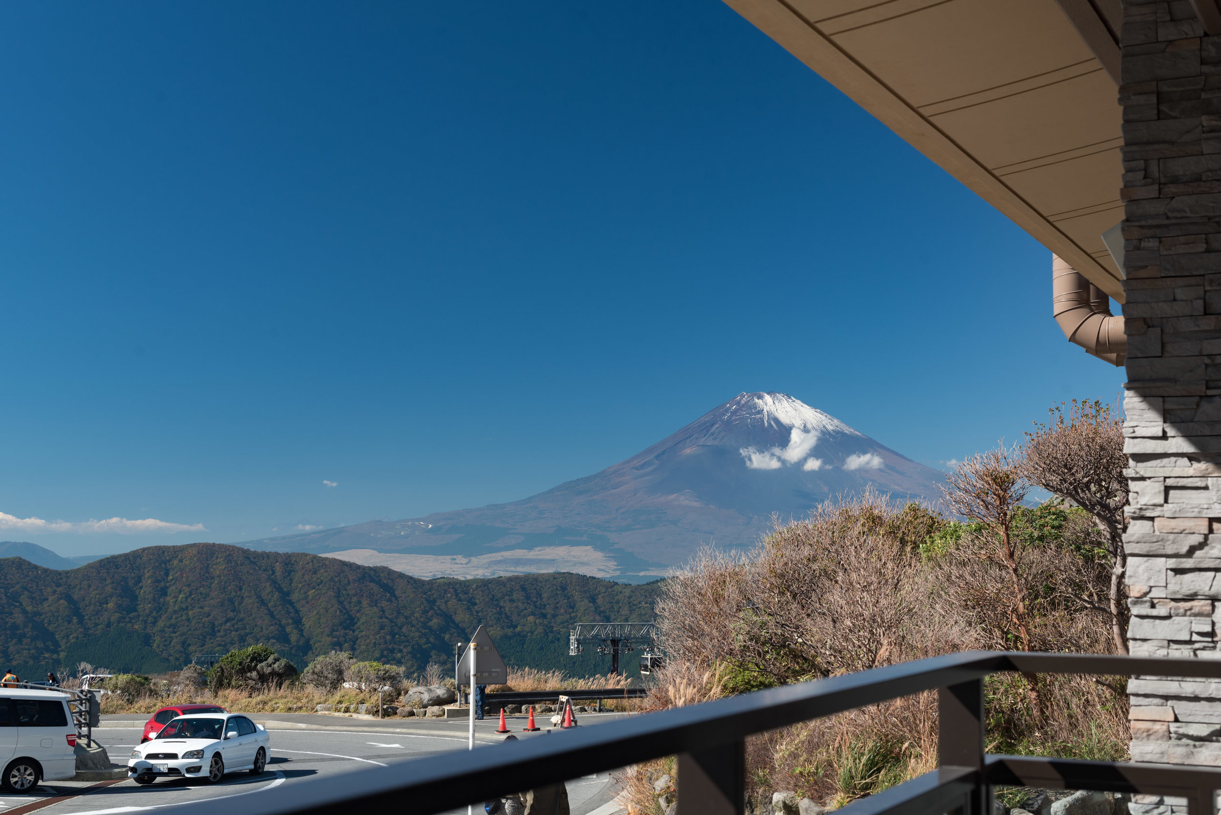 Mt. Fuji at Owakudani  Travel Guide for Day-trip to Hakone from Tokyo
