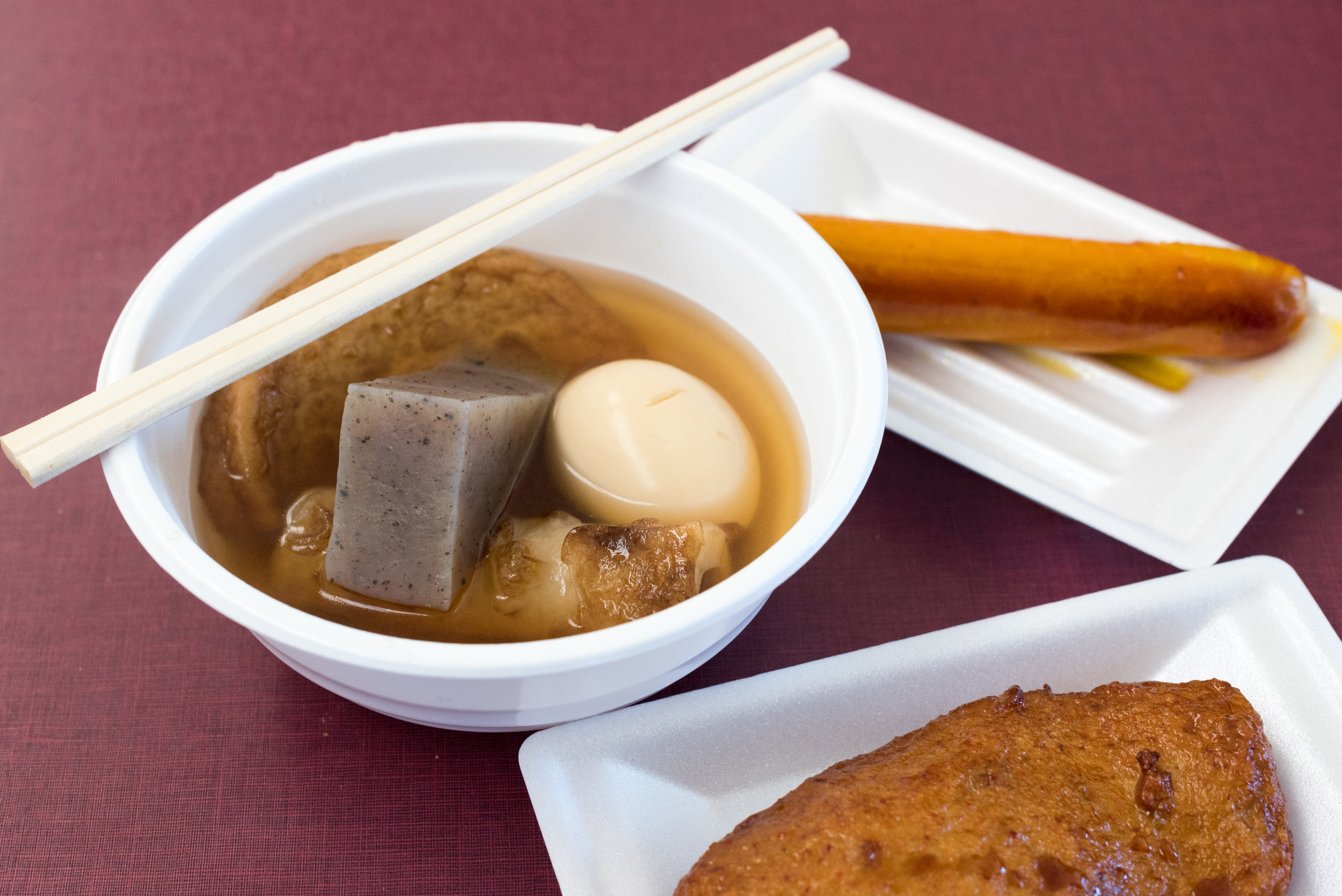 Oden at Owakudani  Travel Guide for Day-trip to Hakone from Tokyo