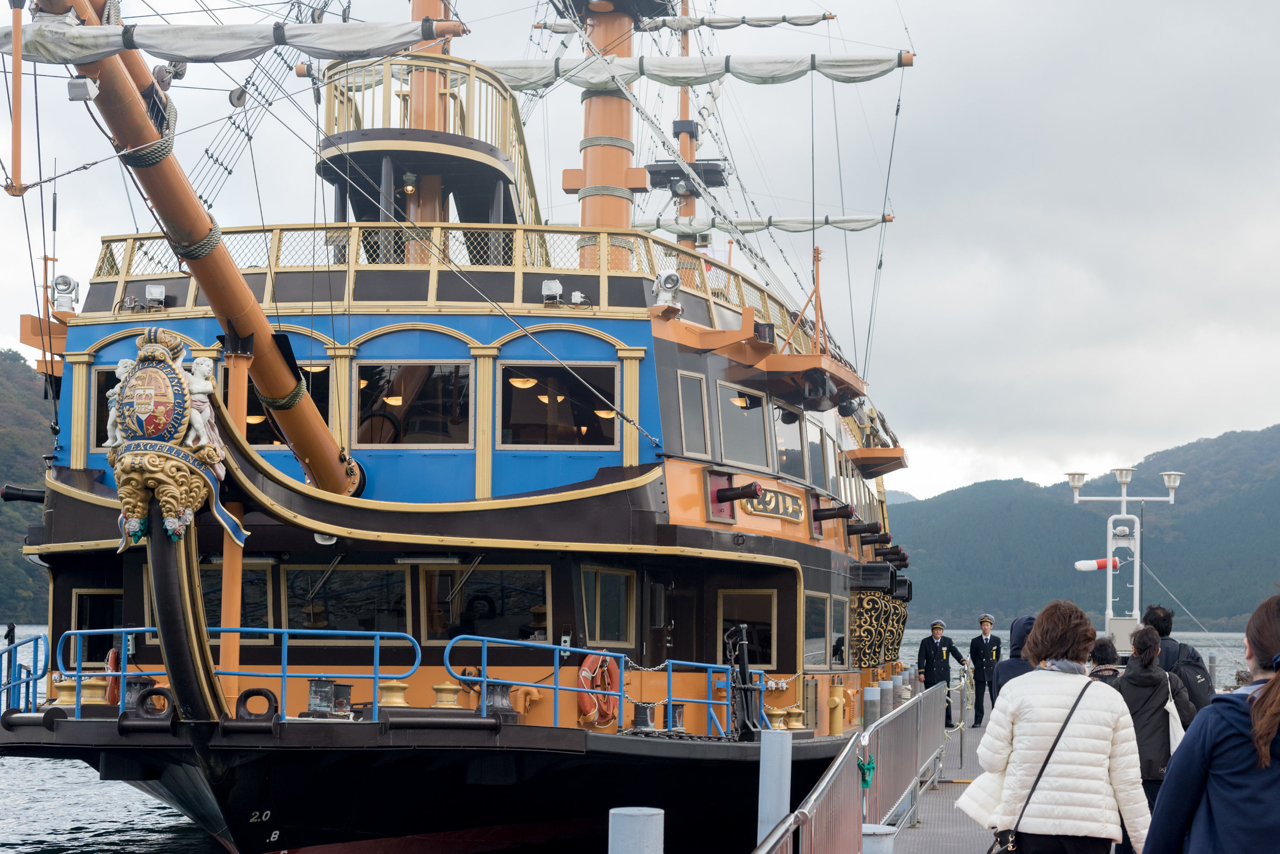 Hakone Sightseeing Cruise  Travel Guide for Day-trip to Hakone from Tokyo