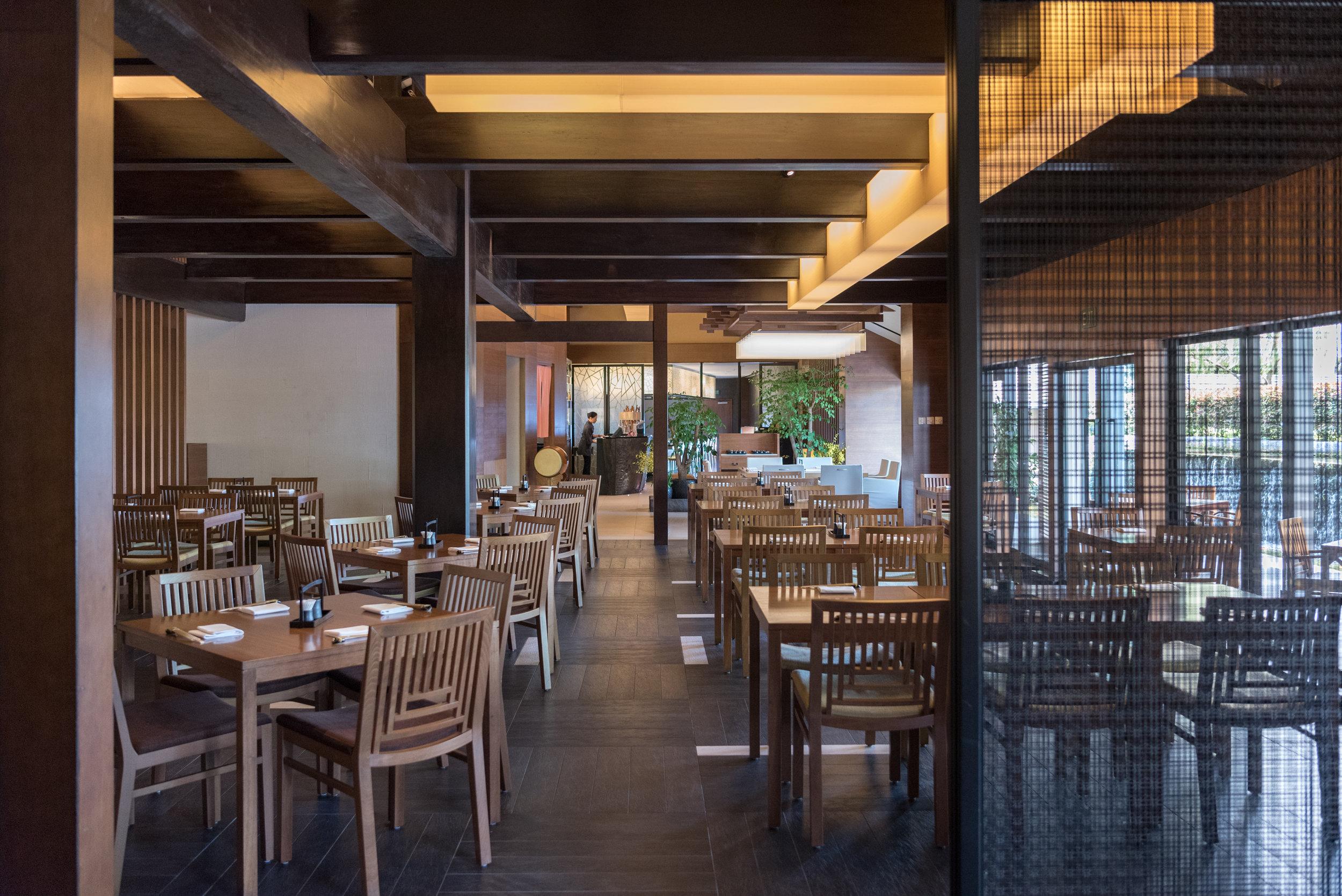 Restaurant Interiors  Keyaki - Pan Pacific Singapore